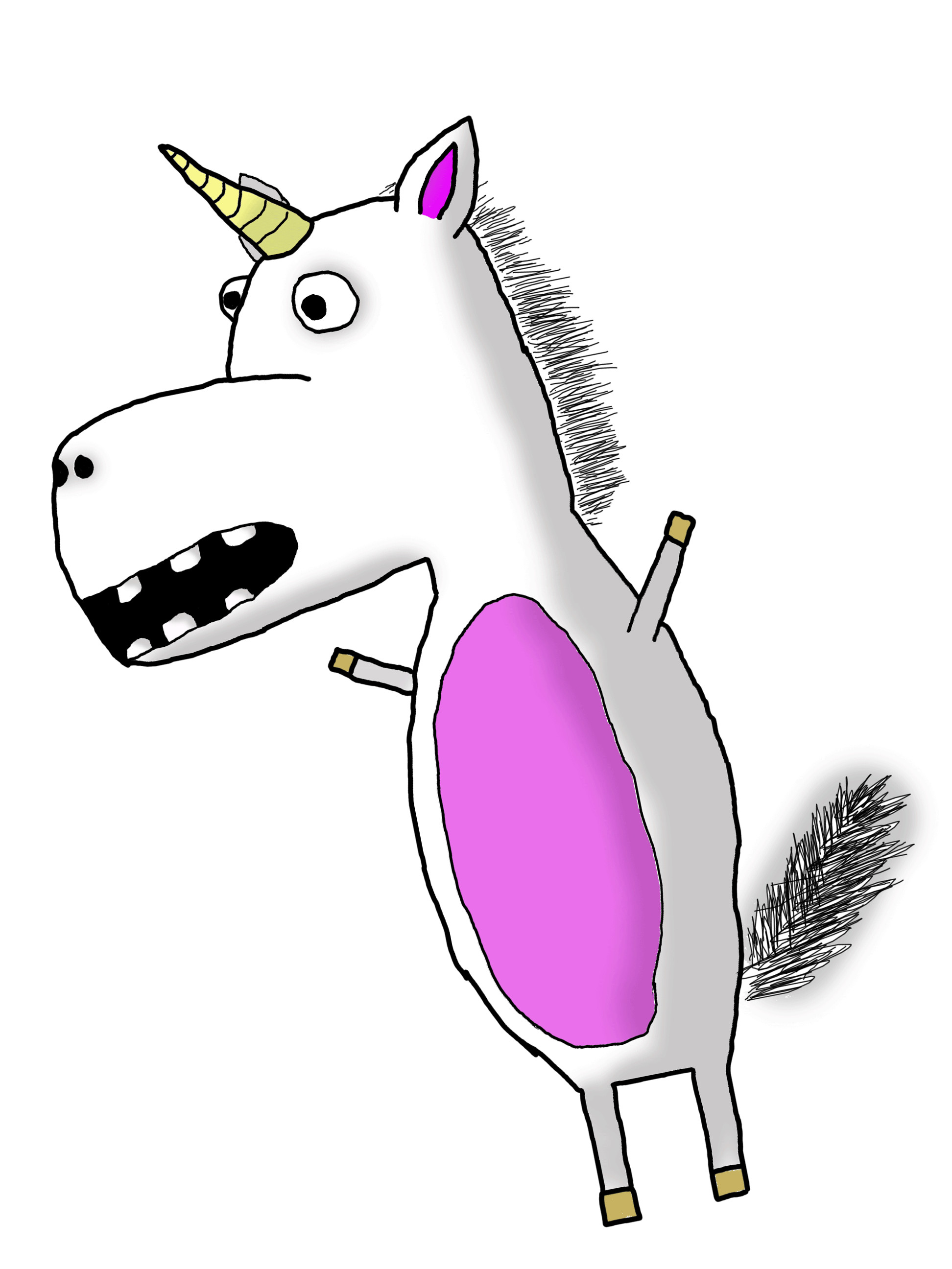 1944x2592 Animated Unicorn Pictures - ClipArt Best