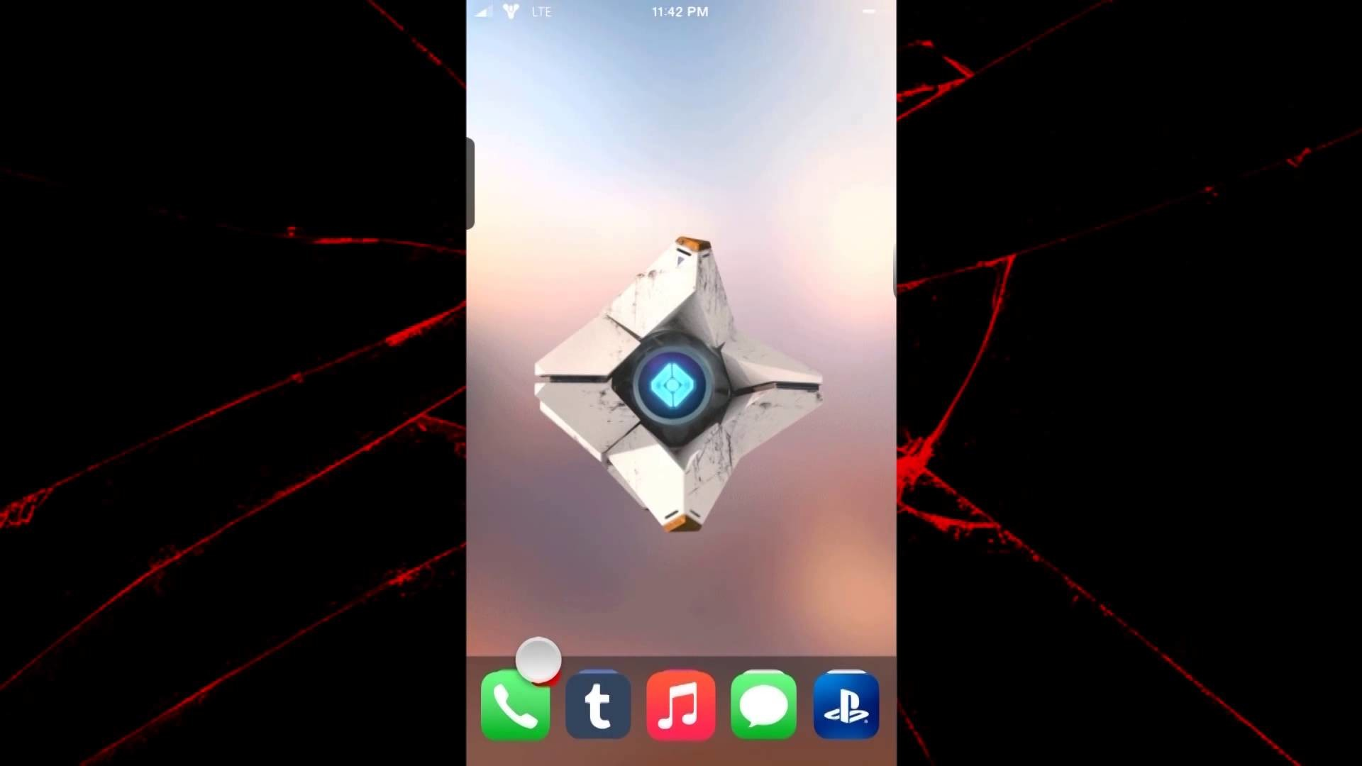 1920x1080 Turn your iPhone into a Ghost from Destiny!