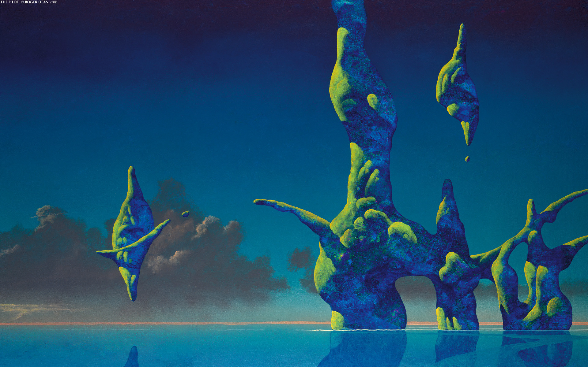 1920x1200 Roger dean science fiction wallpaper  13108 WallpaperUP