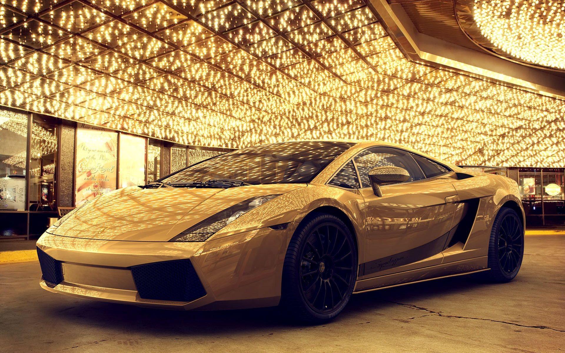 1920x1200 Beautiful HD Wallpapers Very AttractiveTop Wonderful Gold Plated Lamborghini