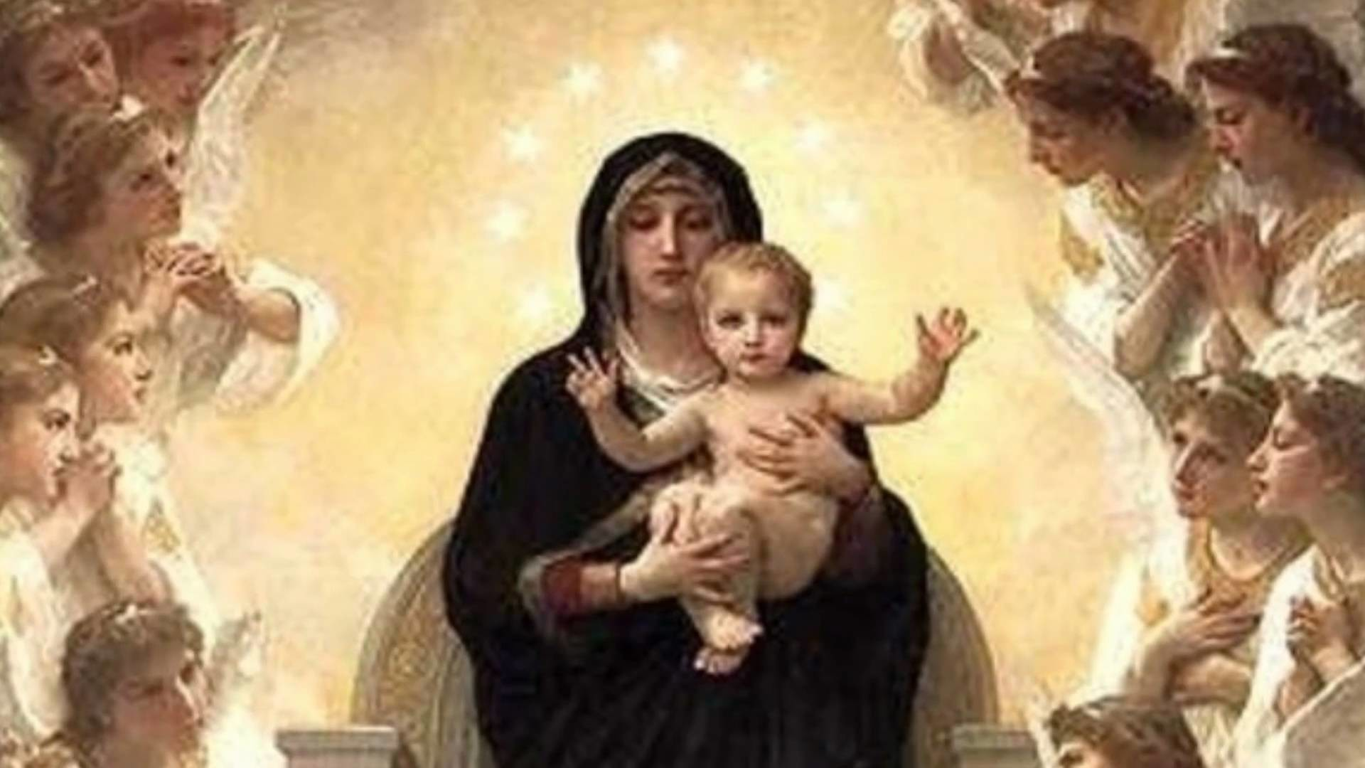 1920x1080 The Virgin Mary Mother Of God