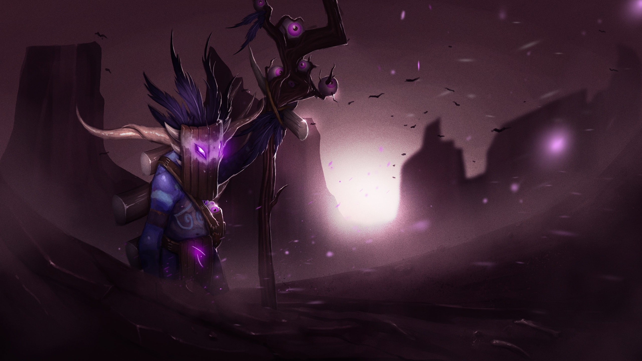 2560x1440 Dota2 : Witch Doctor Wallpapers Dota2 : Witch Doctor Wallpapers hd