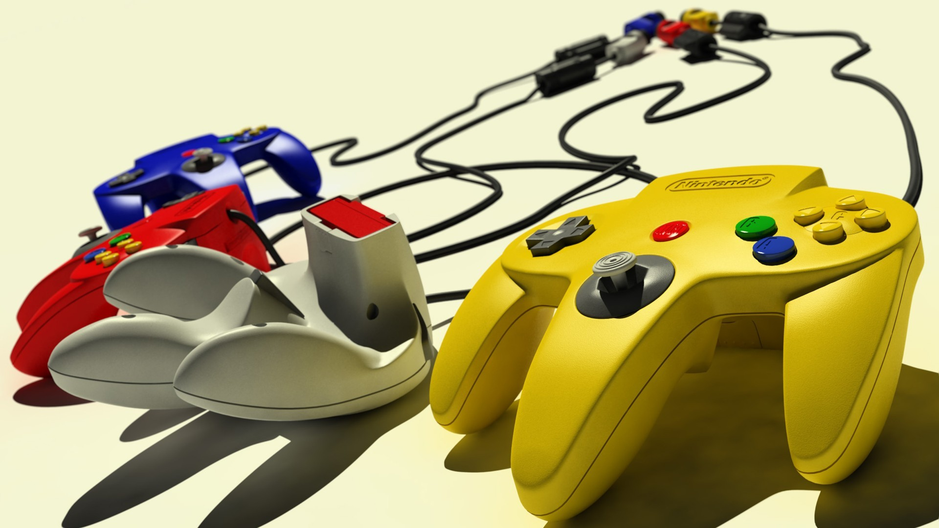 1920x1080 Nintendo 64, Retro Games, Controllers Wallpapers HD / Desktop and Mobile  Backgrounds