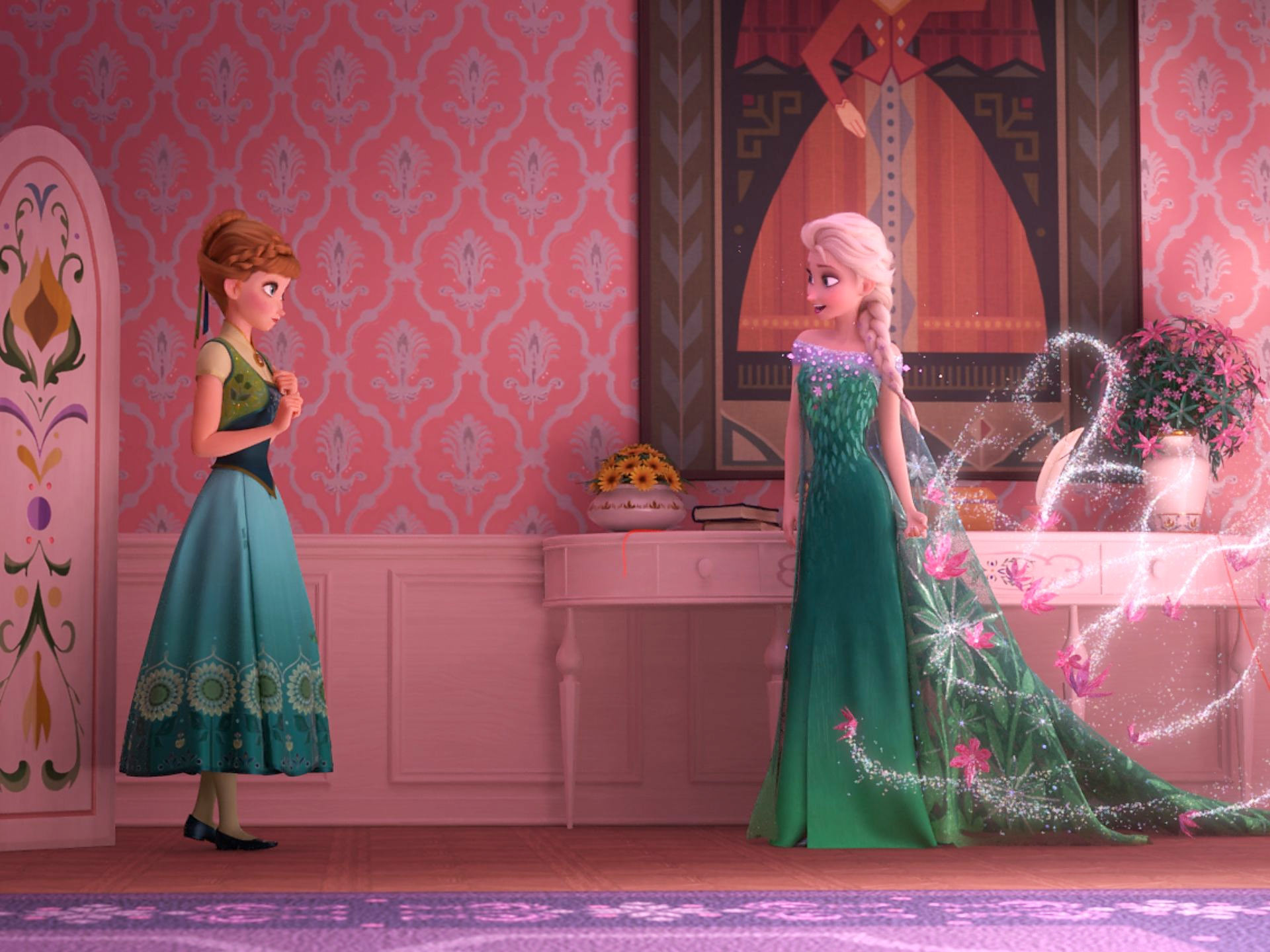 1920x1440 Kids will be excited by two of Frozen Fever's developments in particular: