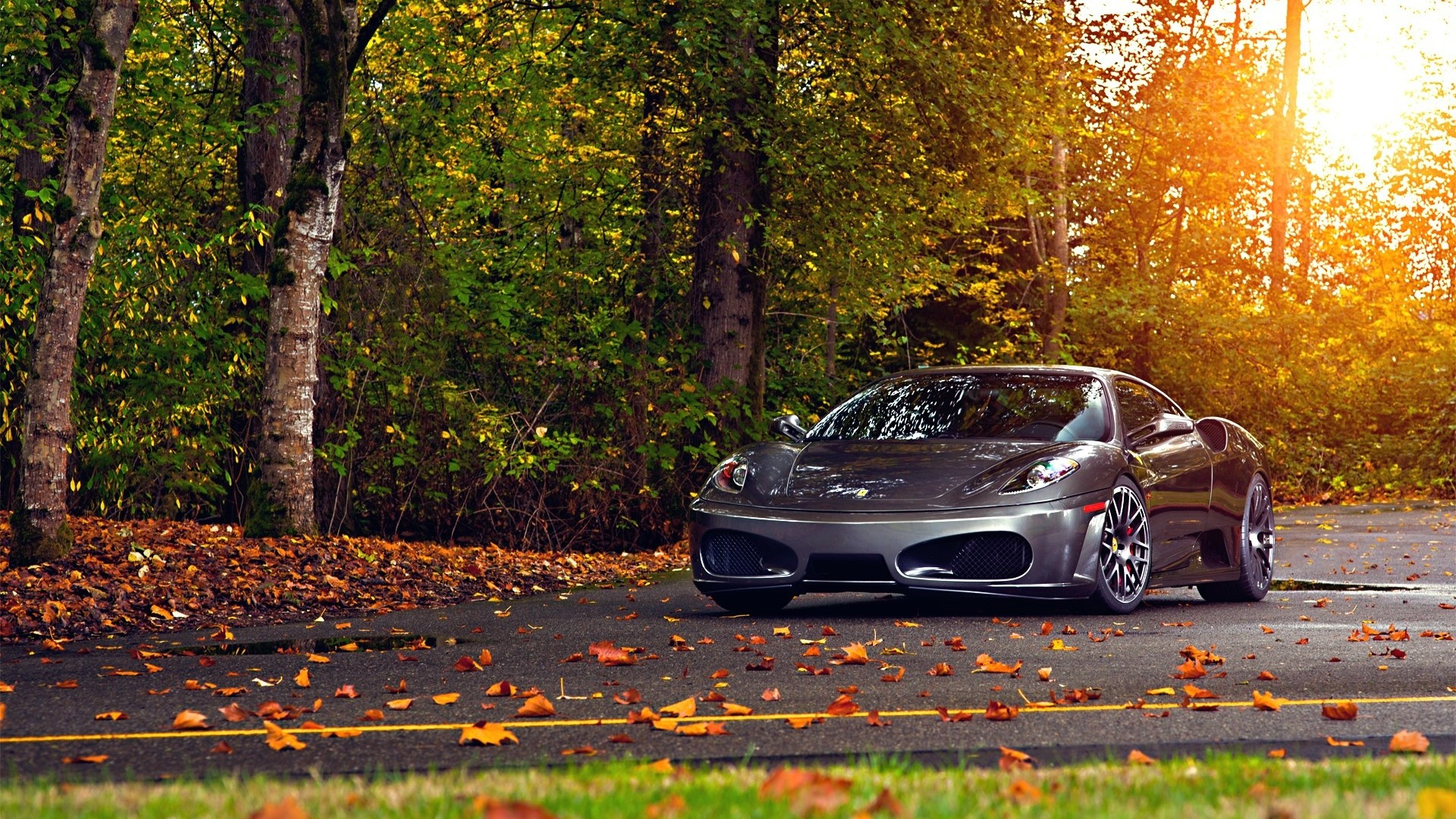 1920x1080 scuderia sports car autumn luxury, Desktop Backgrounds HD 1080p .