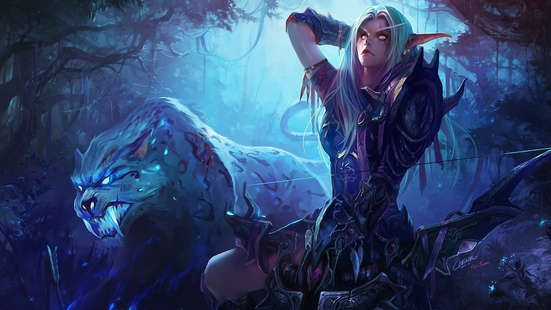 1920x1080 Preview wallpaper hearthstone, podcast, rogue, hunter, card