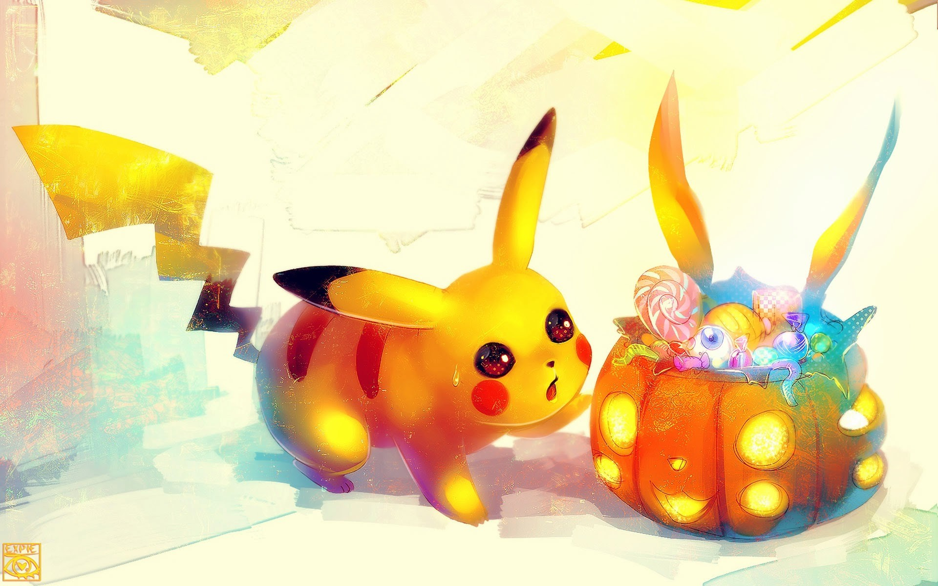 1920x1200 cute pikachu pokemon halloween wallpaper hd  widescreen a158