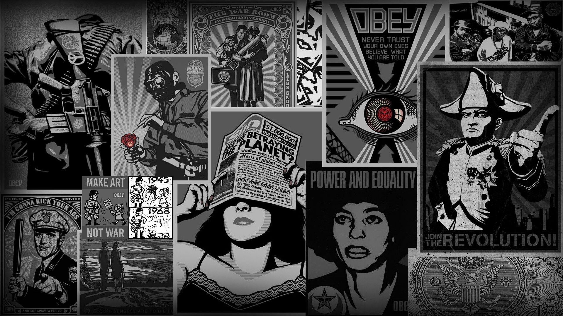 1920x1080 obey, Fantasy Art Wallpapers HD / Desktop and Mobile Backgrounds 1920×1080  Obey Wallpaper