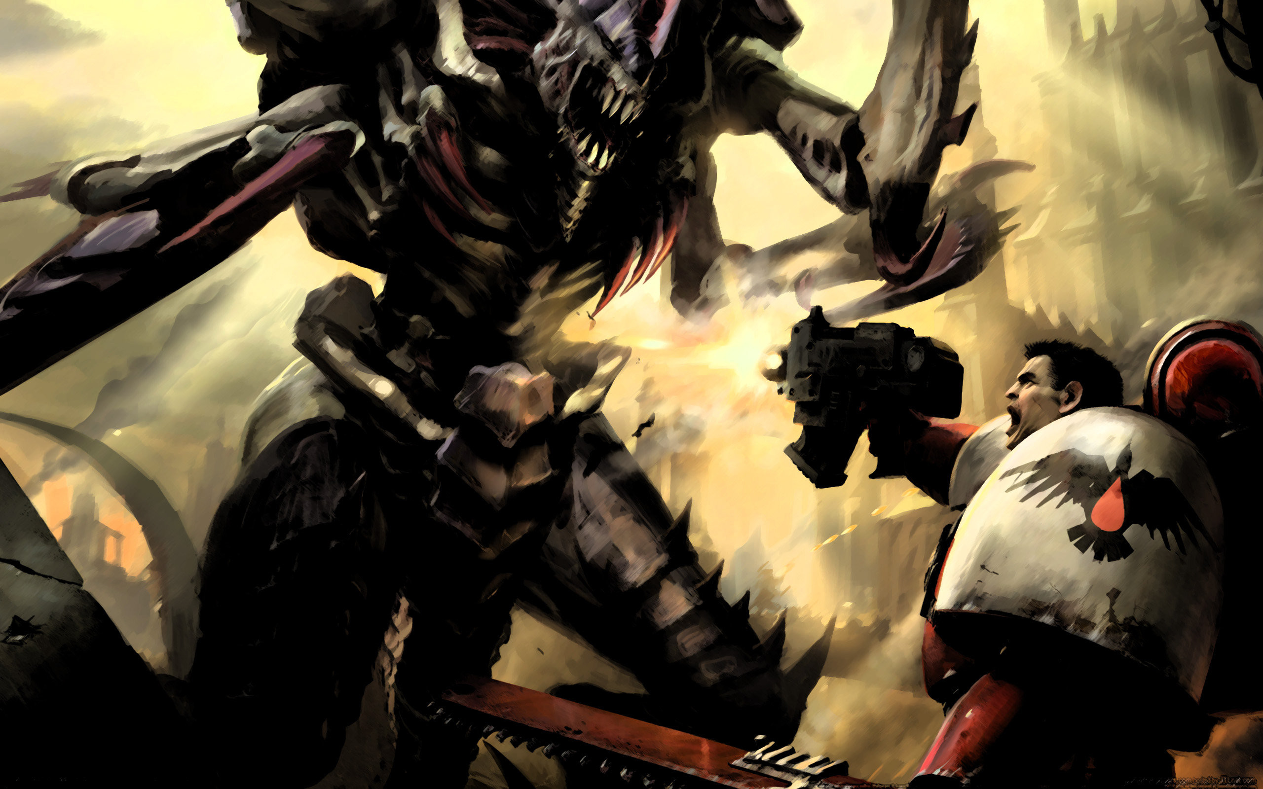 Warhammer 40k death company wallpaper - 2560x1600 Warhammer 40k Black Templar Wallpaper 2560x1600 1550 Wallpaperup