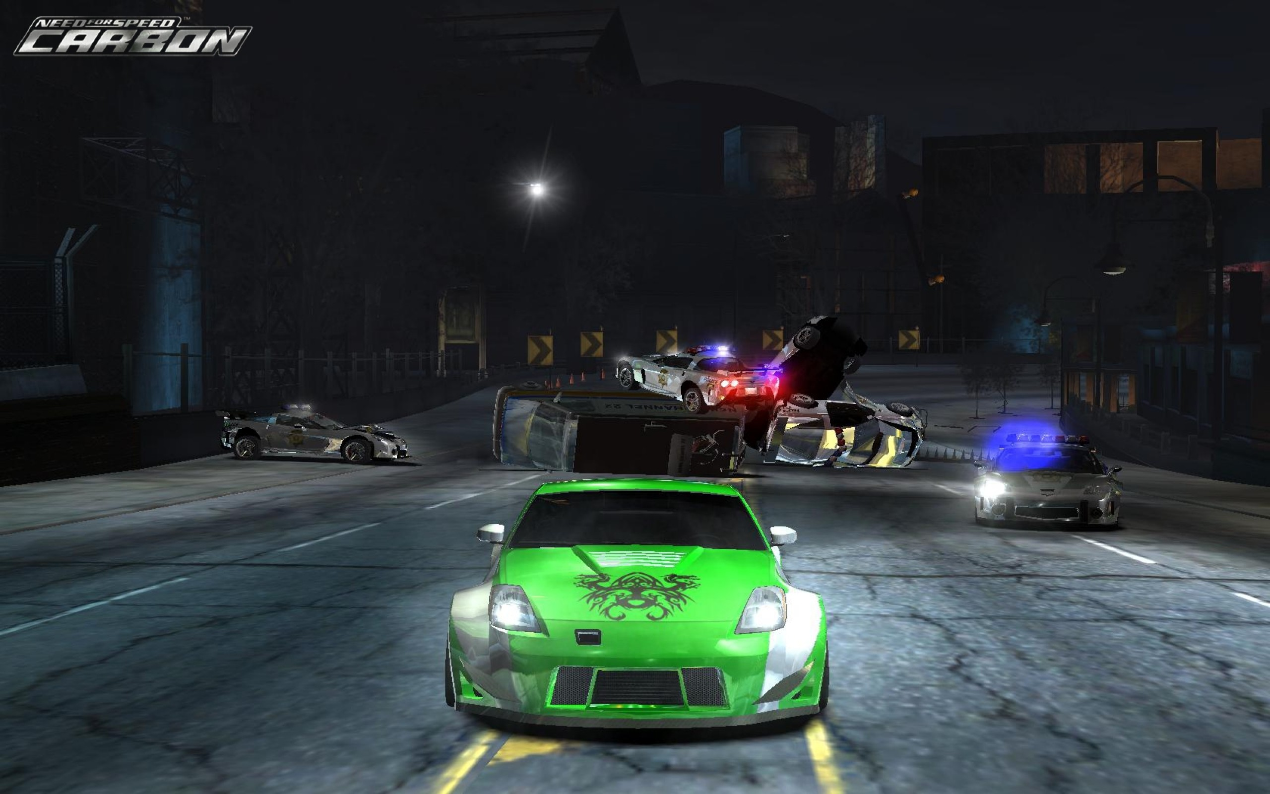 2560x1600 video games need for speed nissan 350z need for speed carbon games pc games  1680x1050 wallpaper