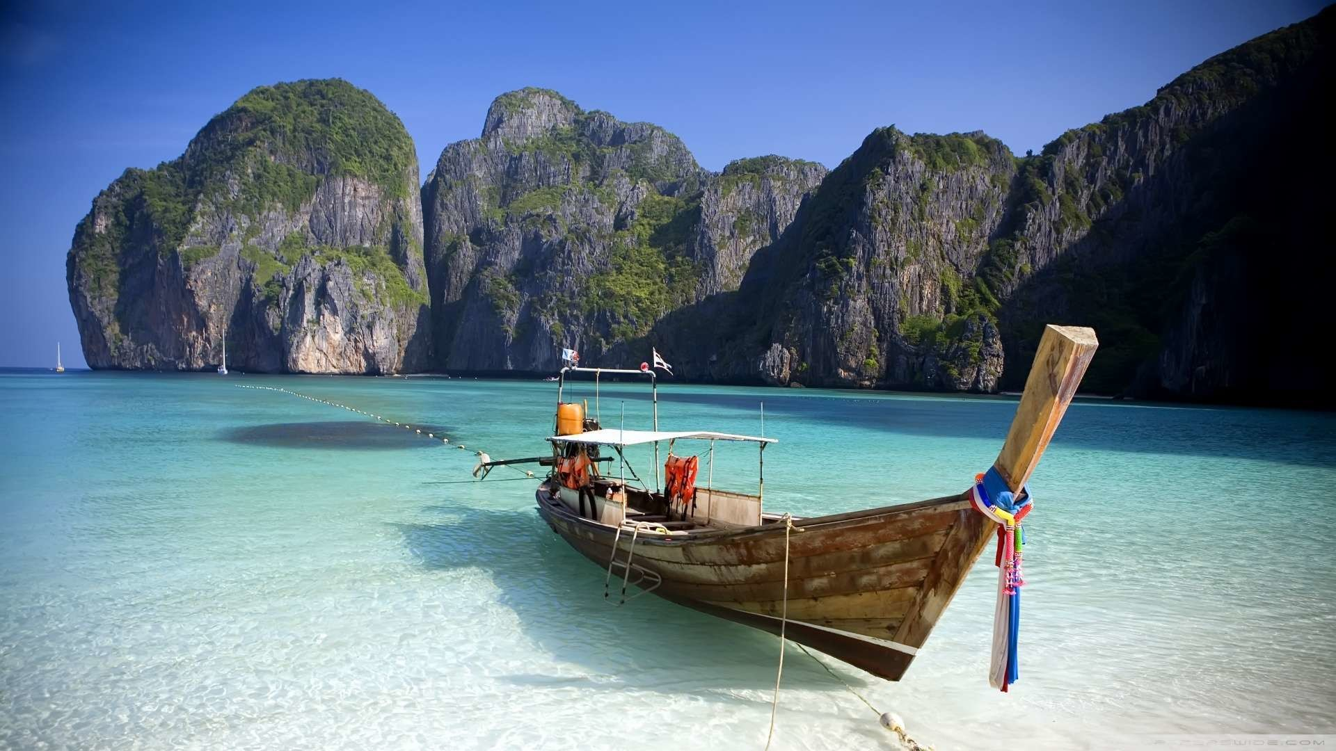 1920x1080 Thailand Beach Wallpaper 1080p HD