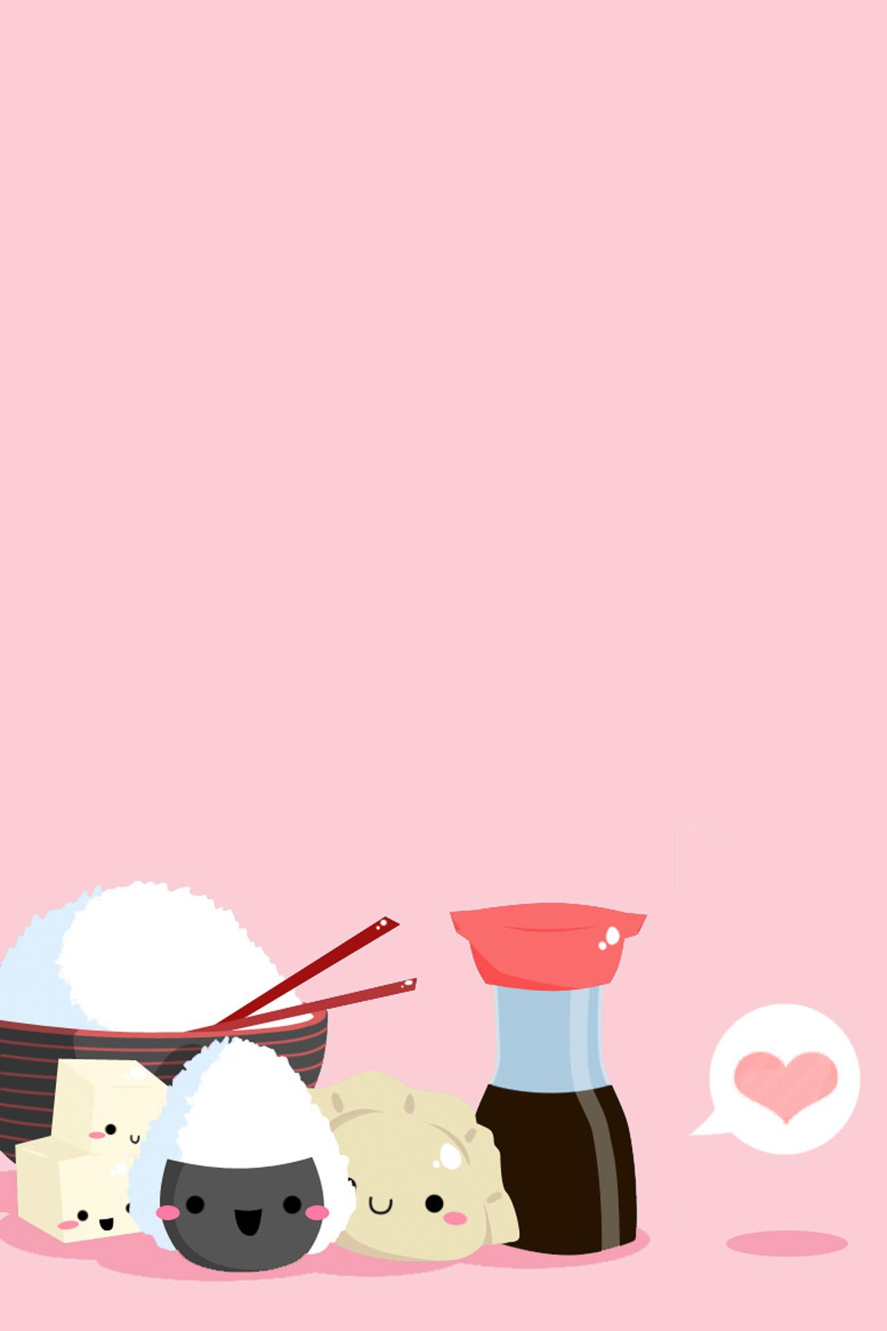 Cute Cartoon Food Wallpapers 67 Images