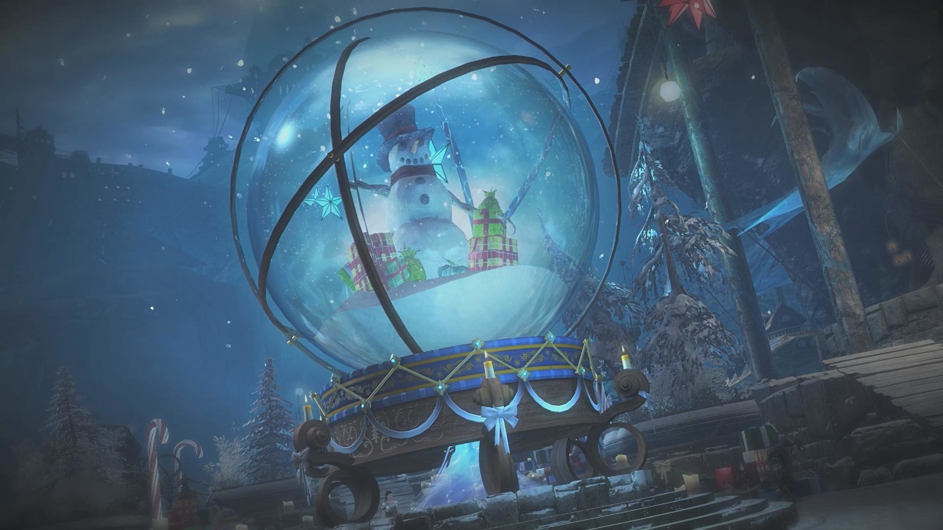 Snow Globe Wallpaper 66 Images