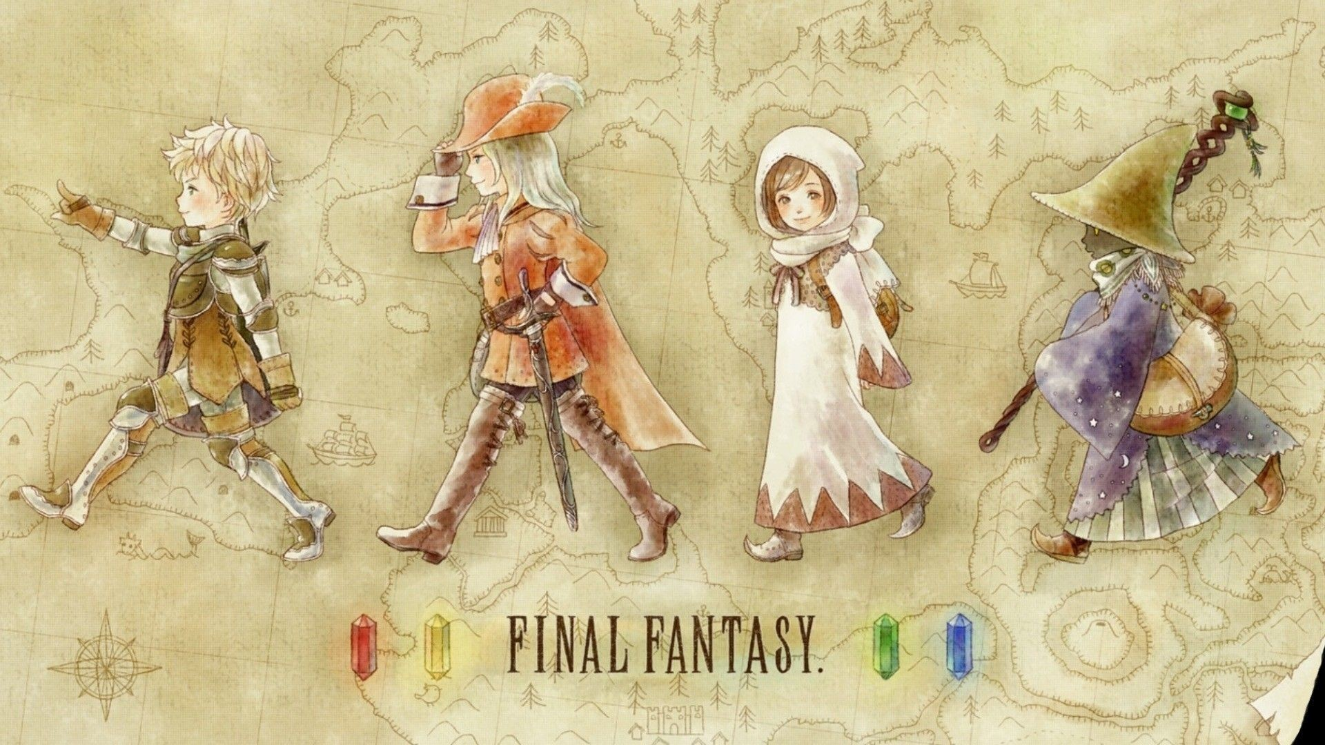 1920x1080 Final Fantasy III HD Wallpaper 13 - 1920 X 1080