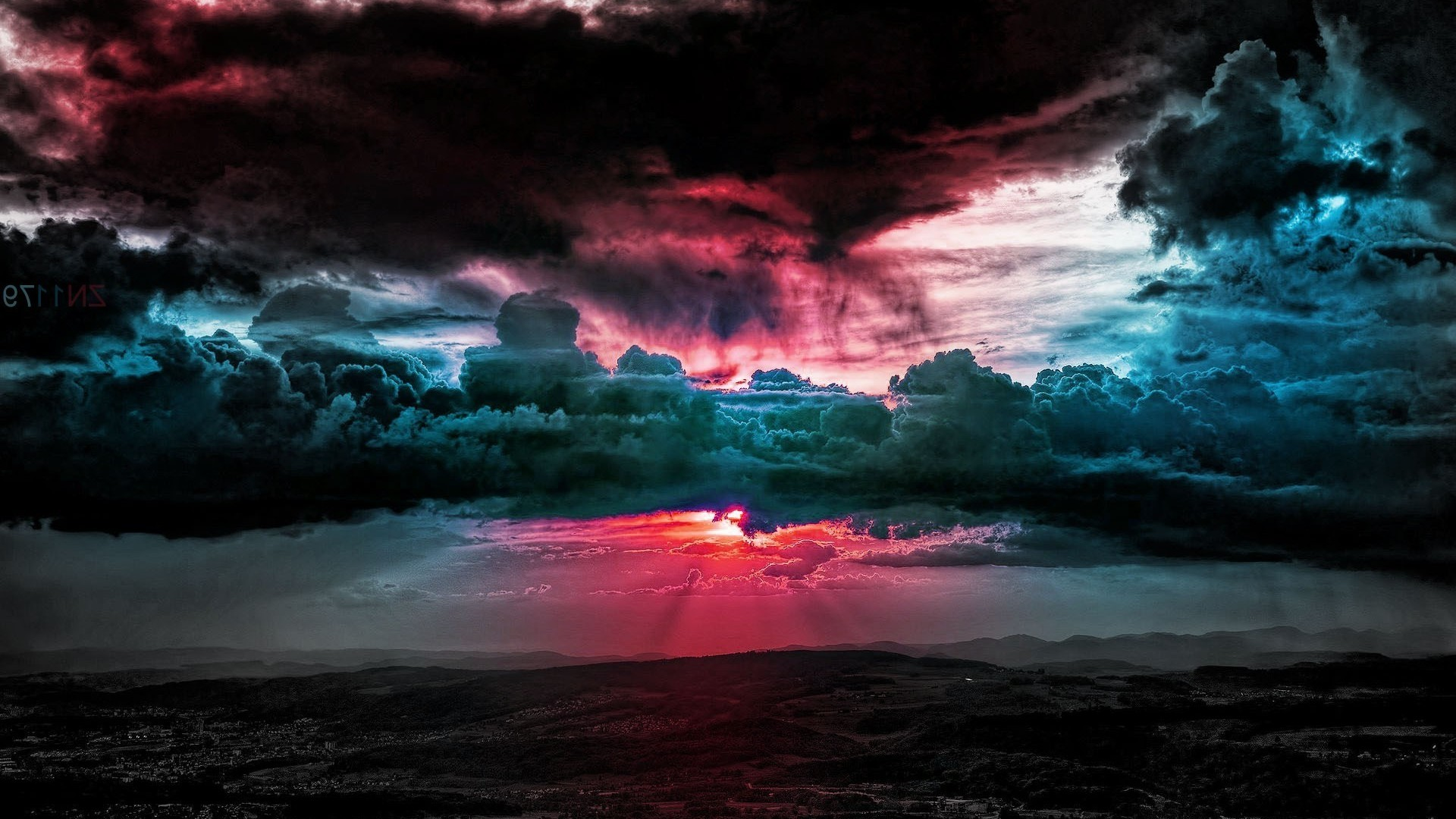 1920x1080 Colorful cloud filled sky HD Wallpaper  Colorful ...