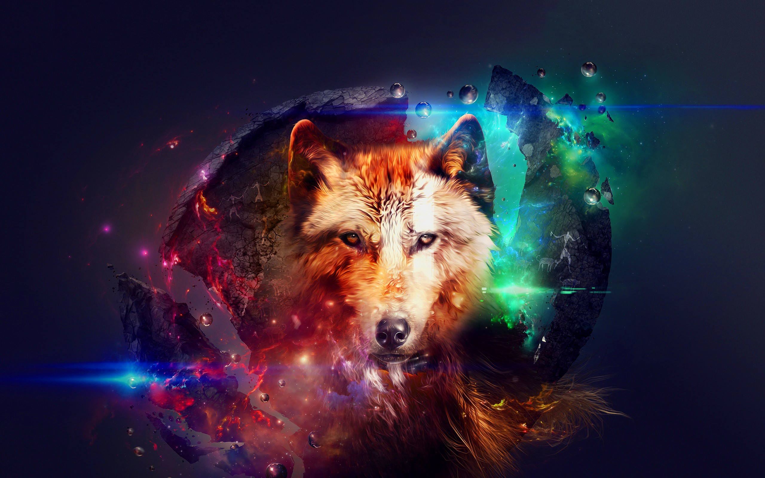2560x1600 Because Wolves Are Cool