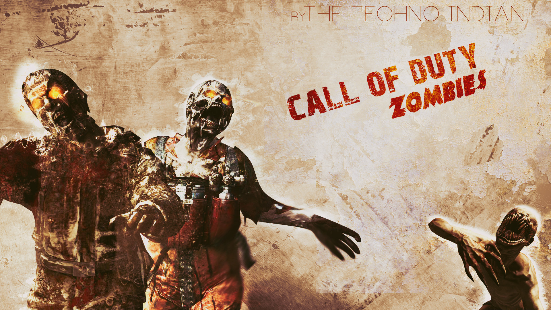 1920x1080 Call Of Duty Zombies Wallpaper by TheTechnoIndian on DeviantArt