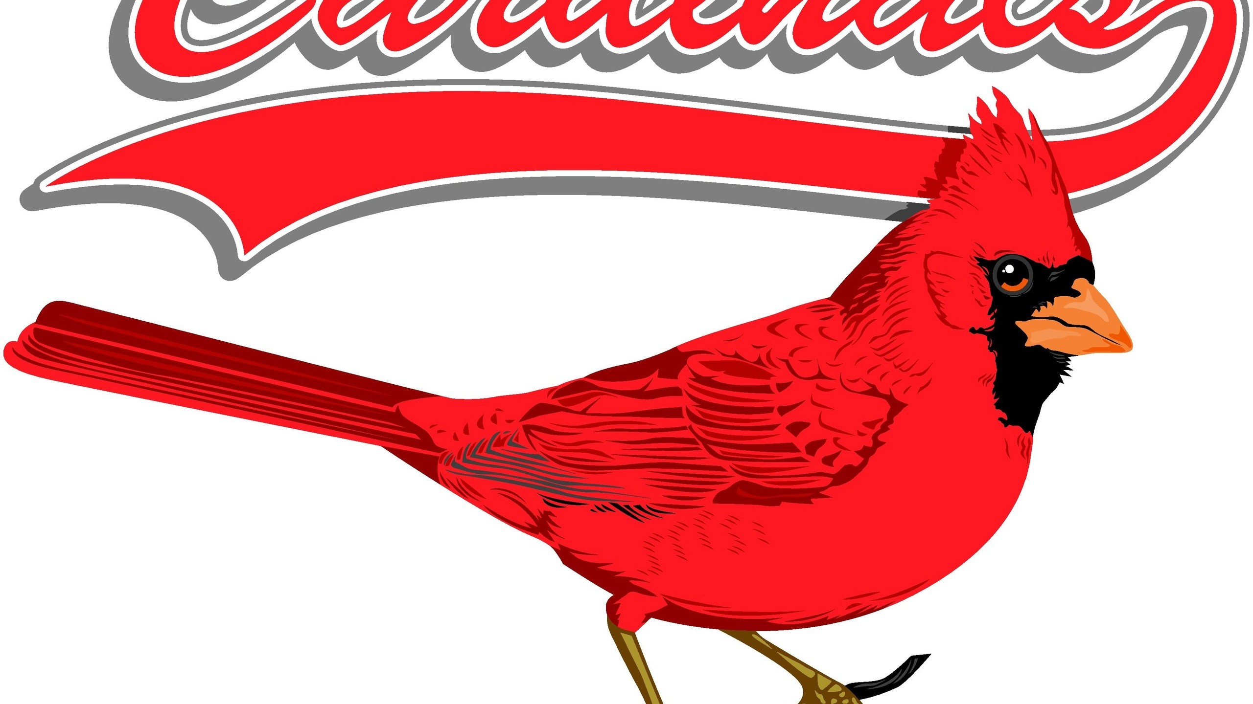 2560x1440 Sports, St. Louis Cardinals Baseball Mlb Logo Background, Mlb, St. Louis