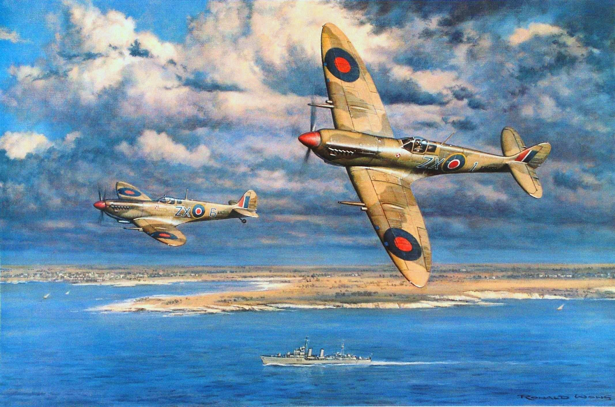 2134x1413 World War II, Military, Aircraft, Military Aircraft, Airplane, Spitfire,  Supermarine