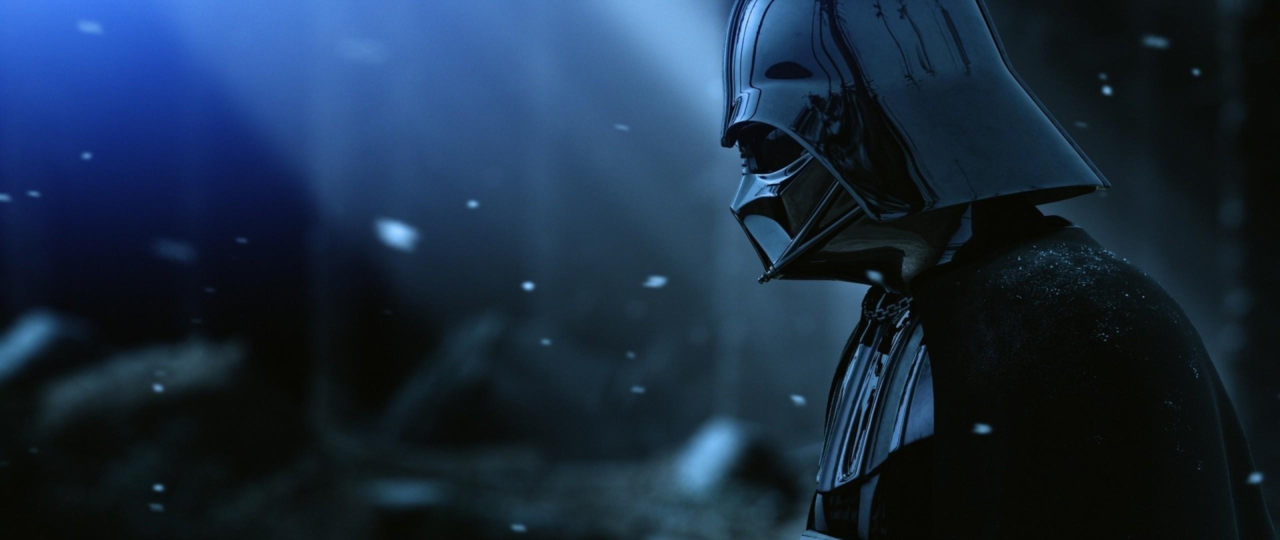 2560x1080 Wallpaper Darth Vader Armor Star Wars Film Hat Snow
