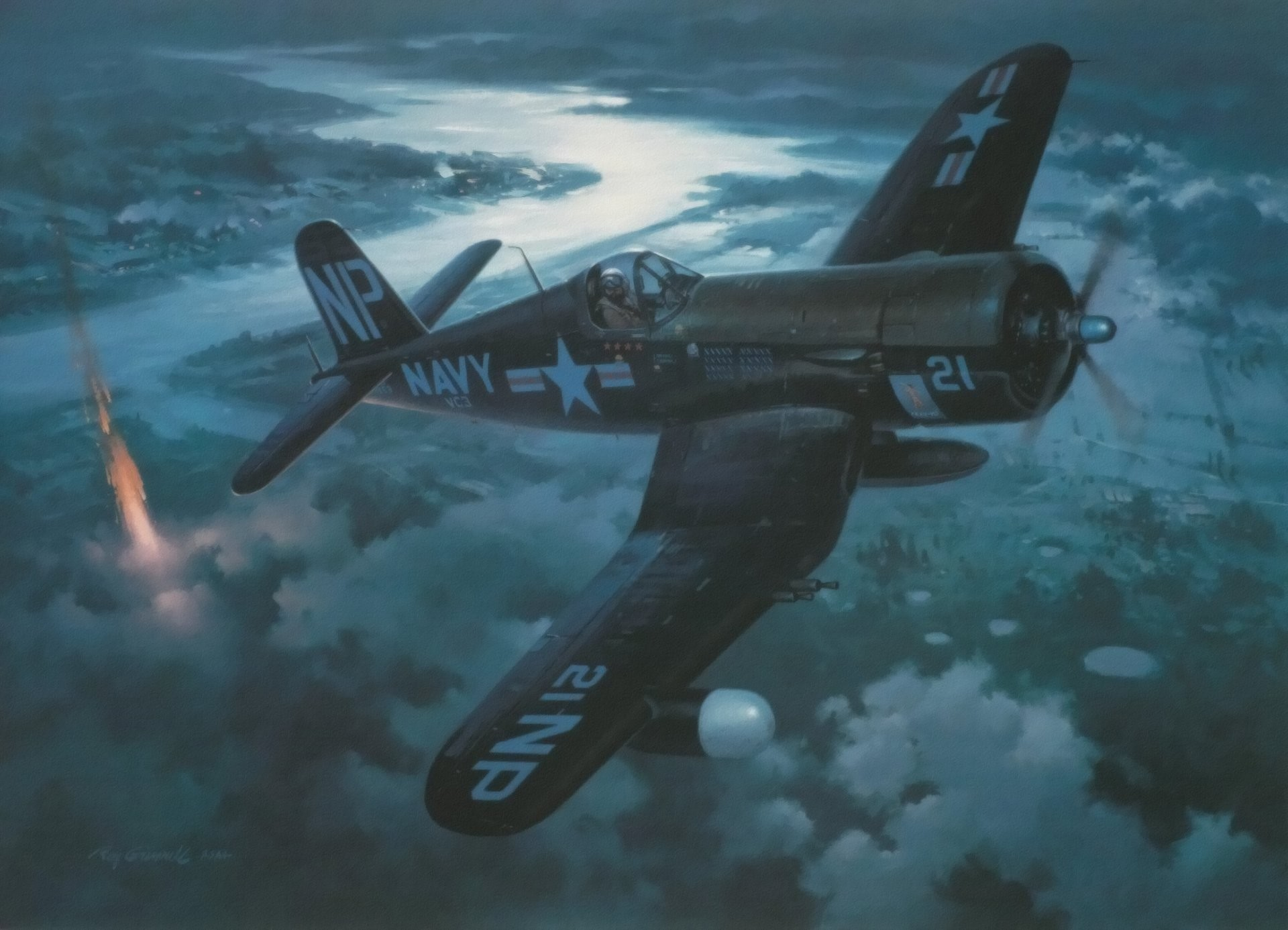 The Best Corsair fighter plane pictures