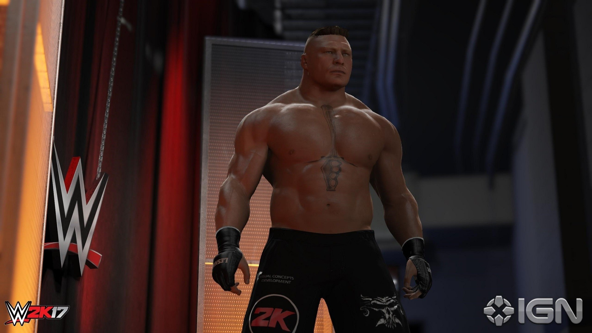 1920x1080 WWE 2K18 Brock Lesnar Wallpaper ...