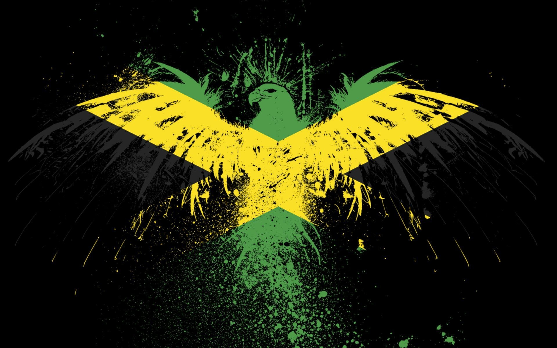 1920x1200 Jamaica Flag Wallpapers