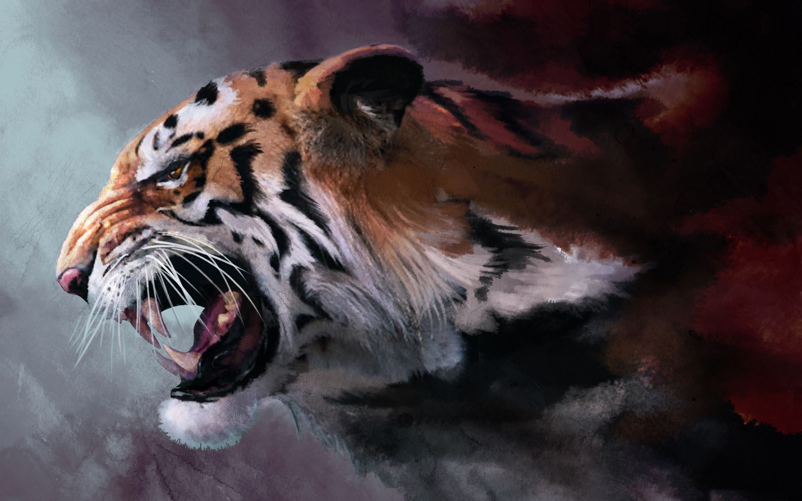 2560x1600 Tiger HD Wallpapers