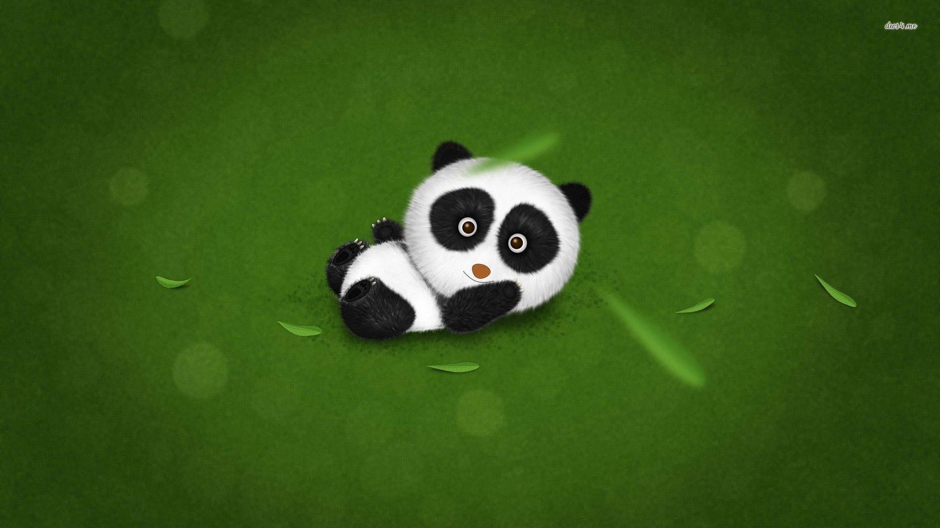 Cute Baby Panda Wallpaper 65 Images