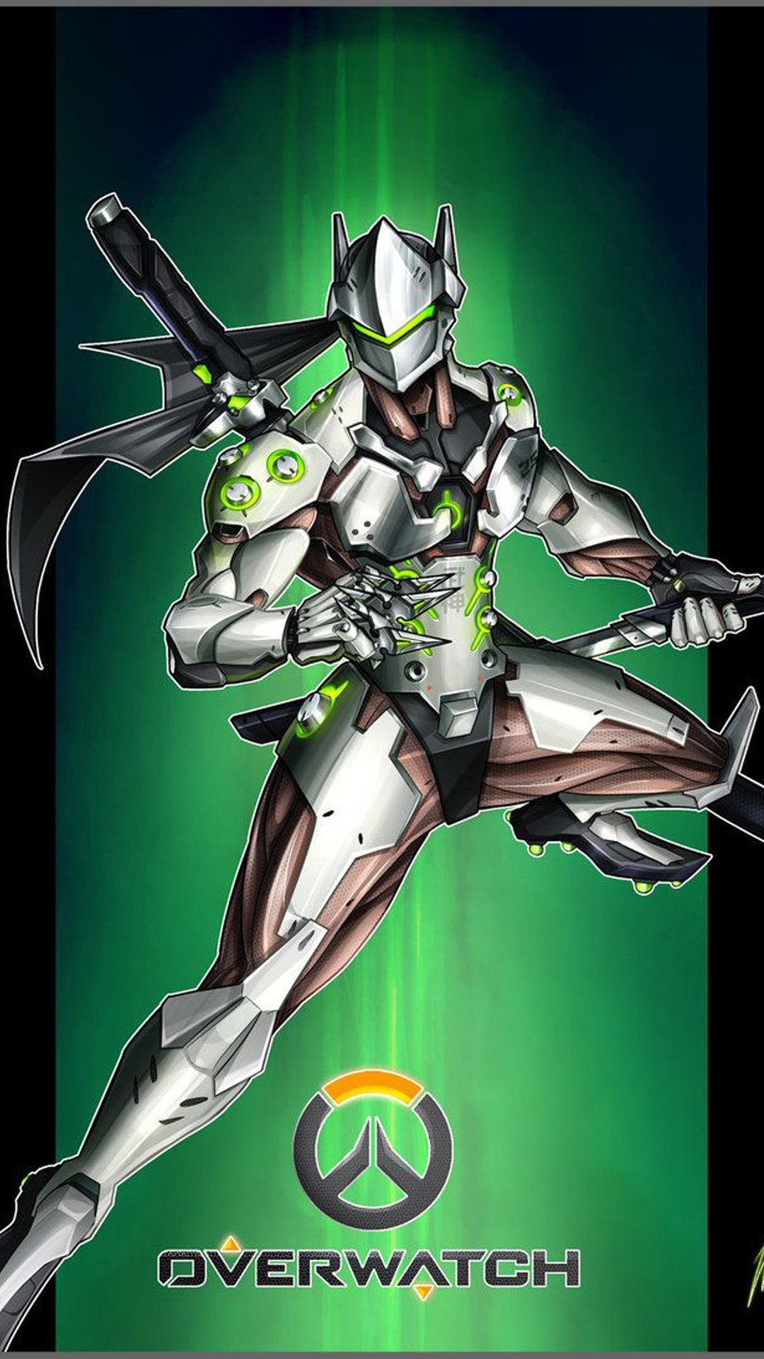 1080x1920 Genji Overwatch wallpapers and backgrounds Genji Overwatch wallpaper iphone