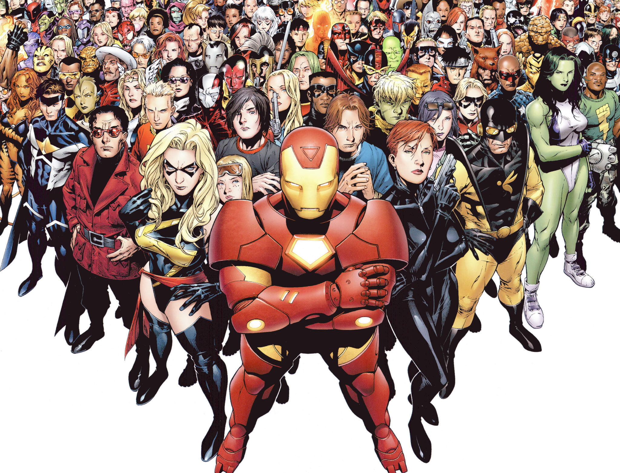 all marvel characters wallpaper (61+ images)