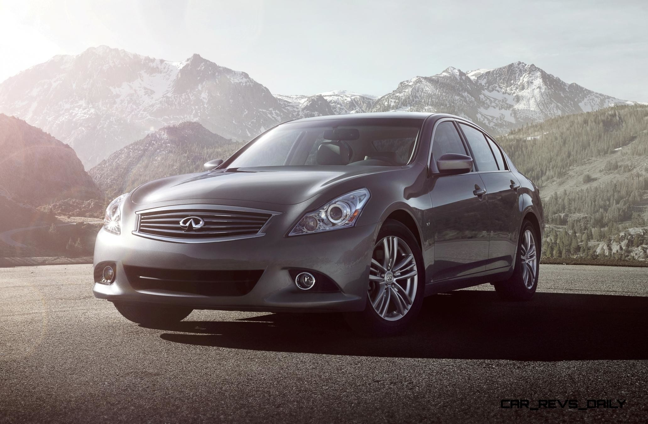 2560x1440 Preview Wallpaper Infiniti, G35, G37, Black, Nature, Side View  2560x1440