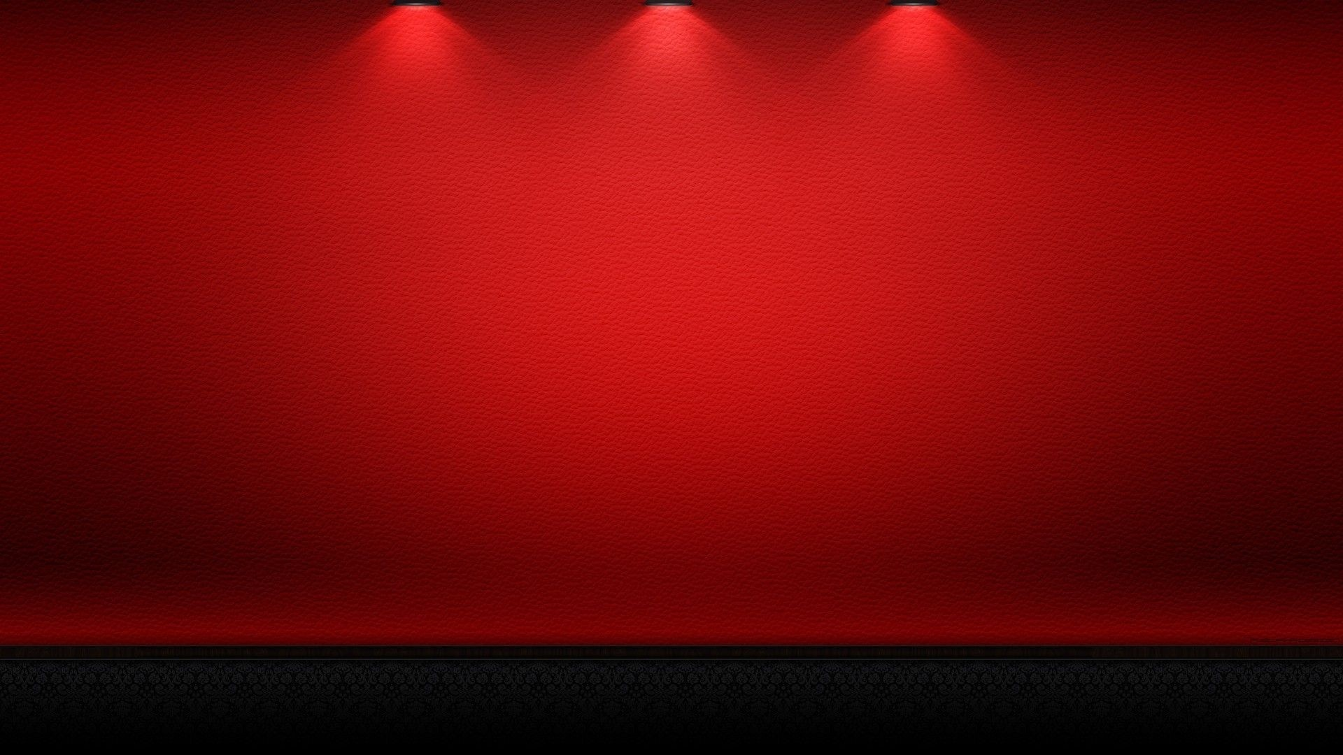 1920x1080 Red plain wall with lighting on up HD wallpapers