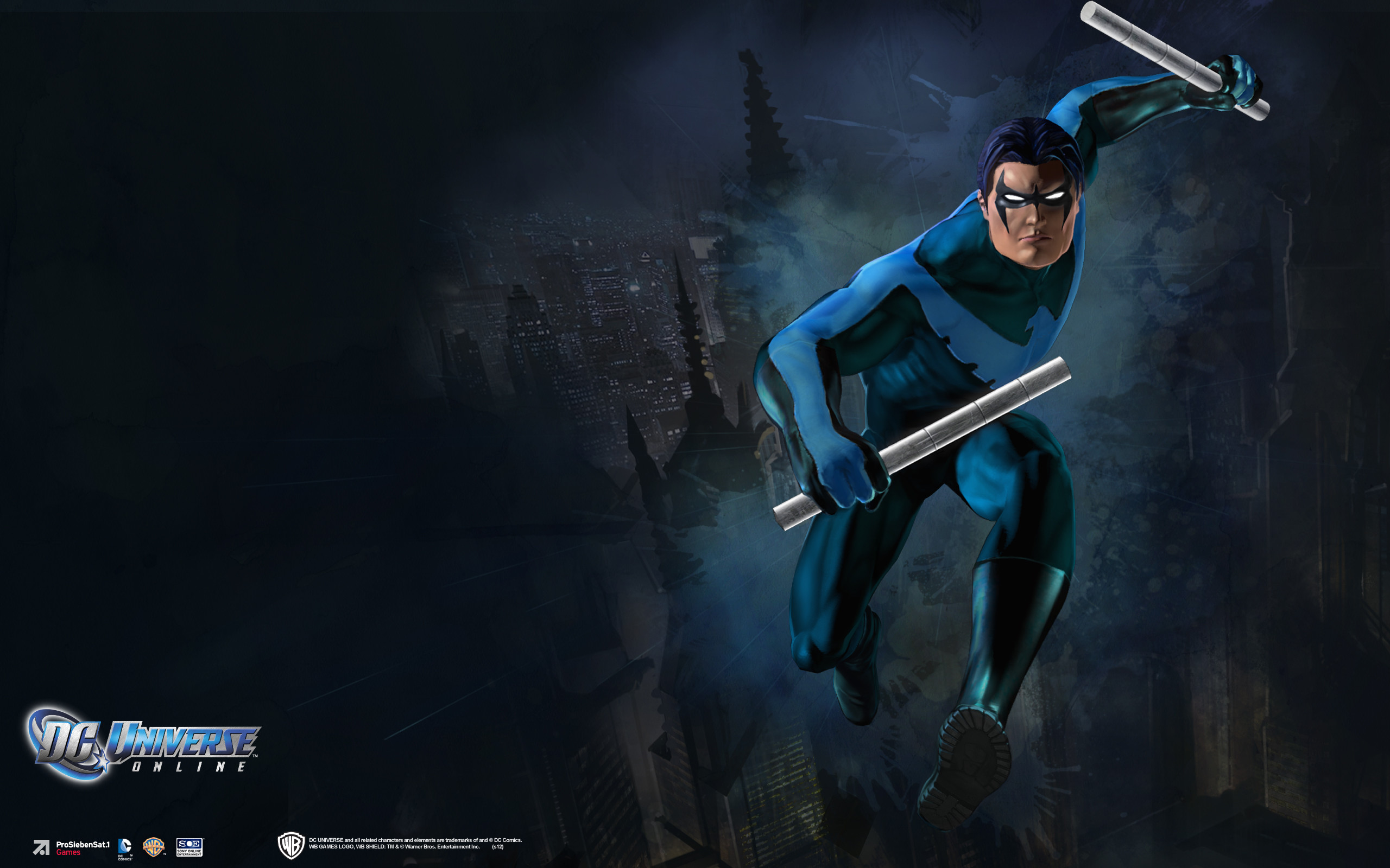 2560x1600 Blue Nightwing Wallpapers Full Hd