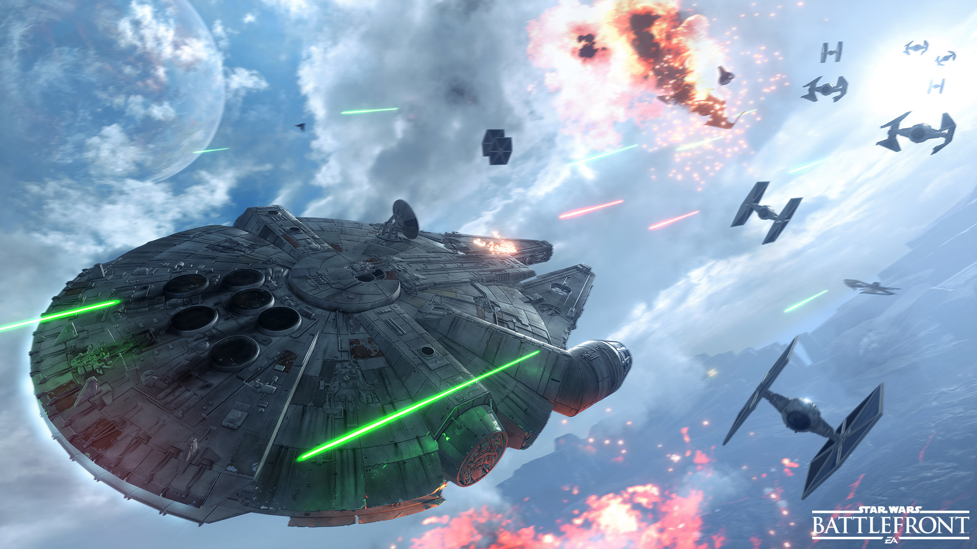 1920x1080 Live Out Your Star Wars™ Dogfight Fantasies with Fighter Squadron Mode