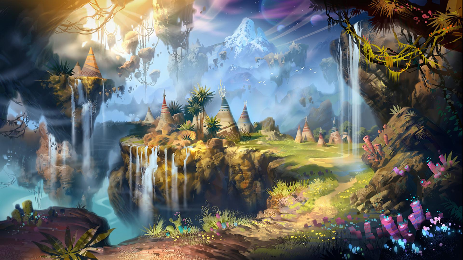 1920x1080 Fantasy - Landschaft Wallpaper