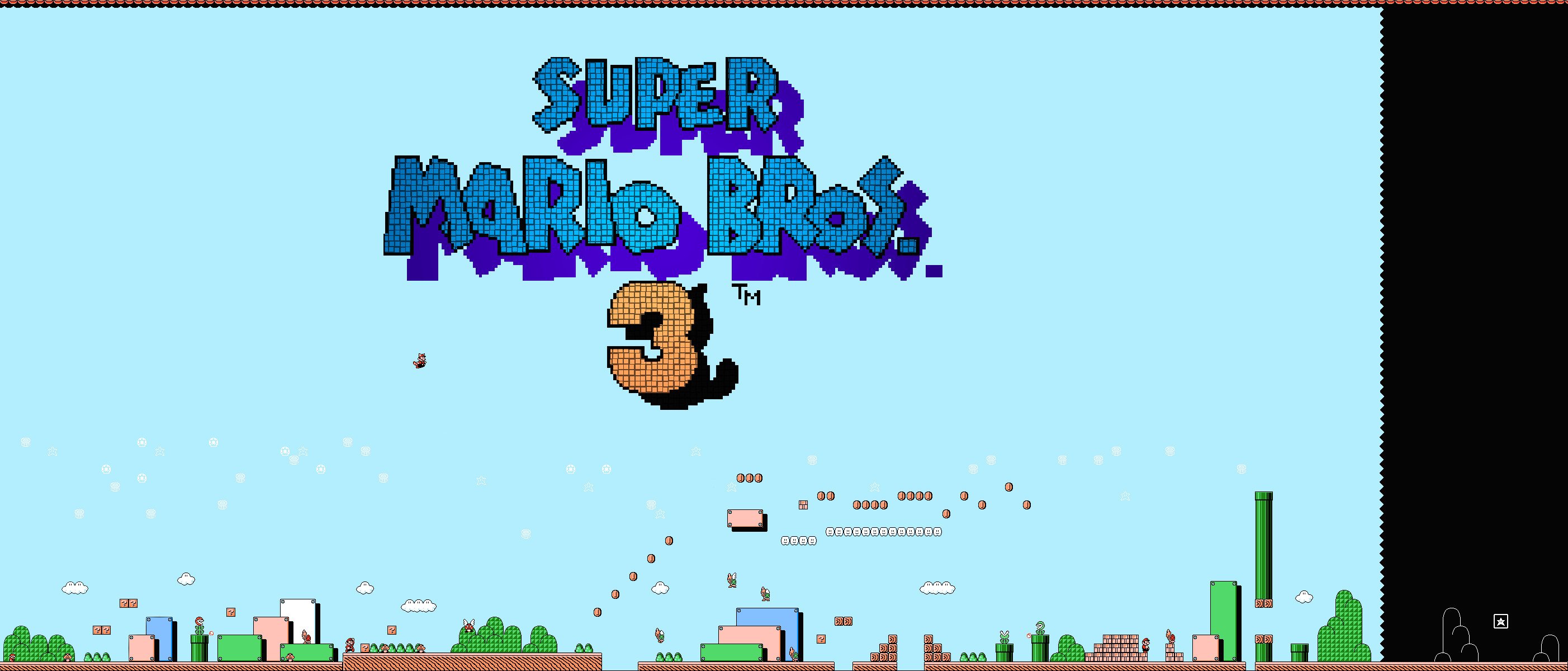 2805x1200 SigmaEcho » Blog Archive » Super Mario Bros. 3 Wallpapers
