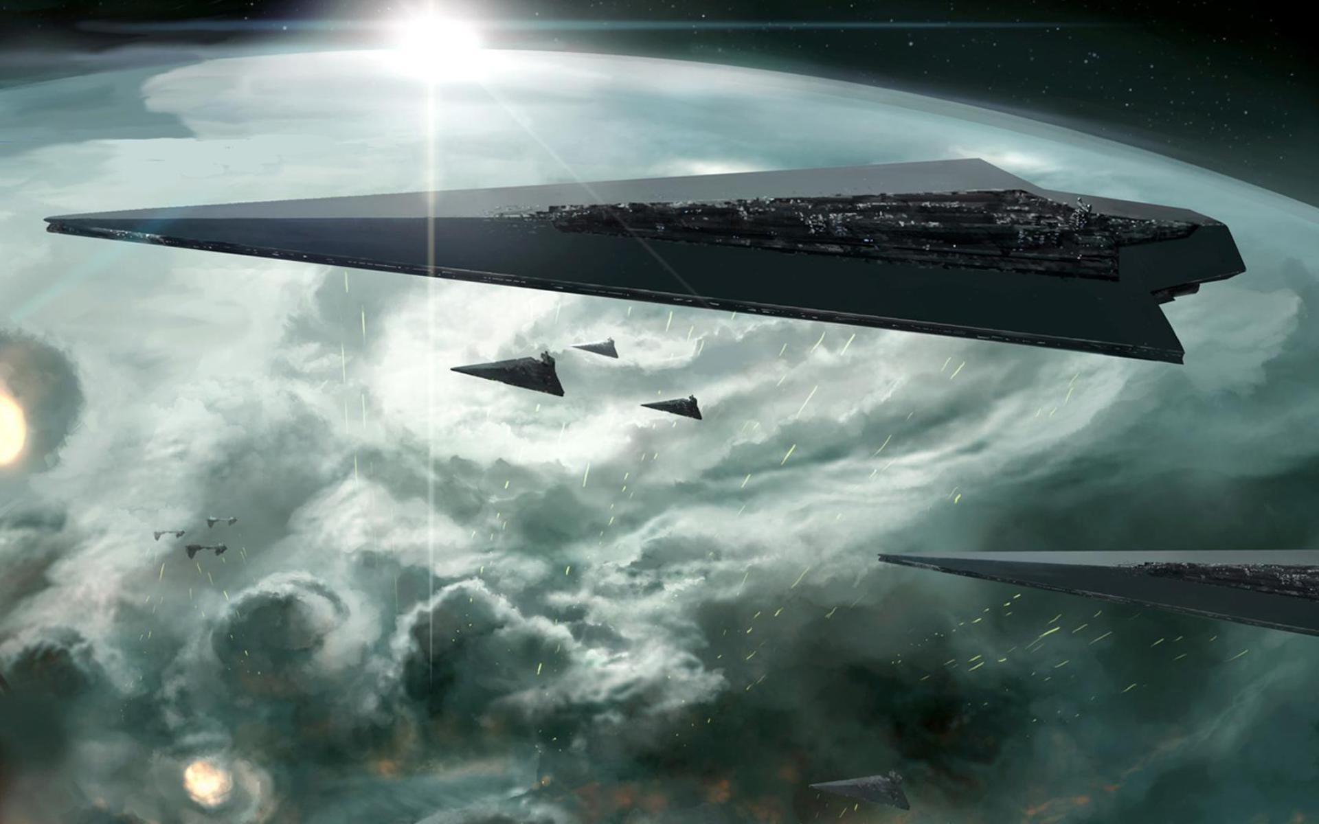 1920x1200 science Fiction, Star Wars, Space, Star Destroyer Wallpapers HD / Desktop  and Mobile Backgrounds