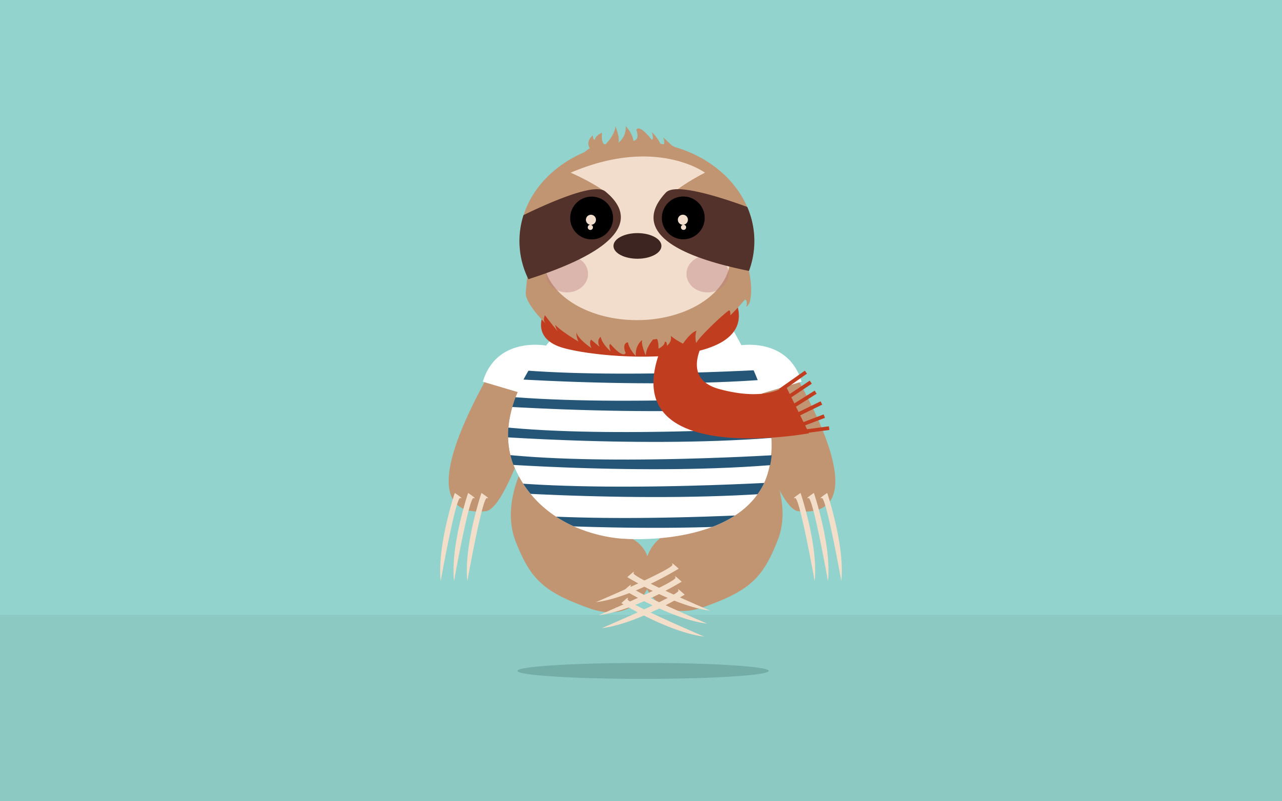 2560x1600 HD Sloth Images.