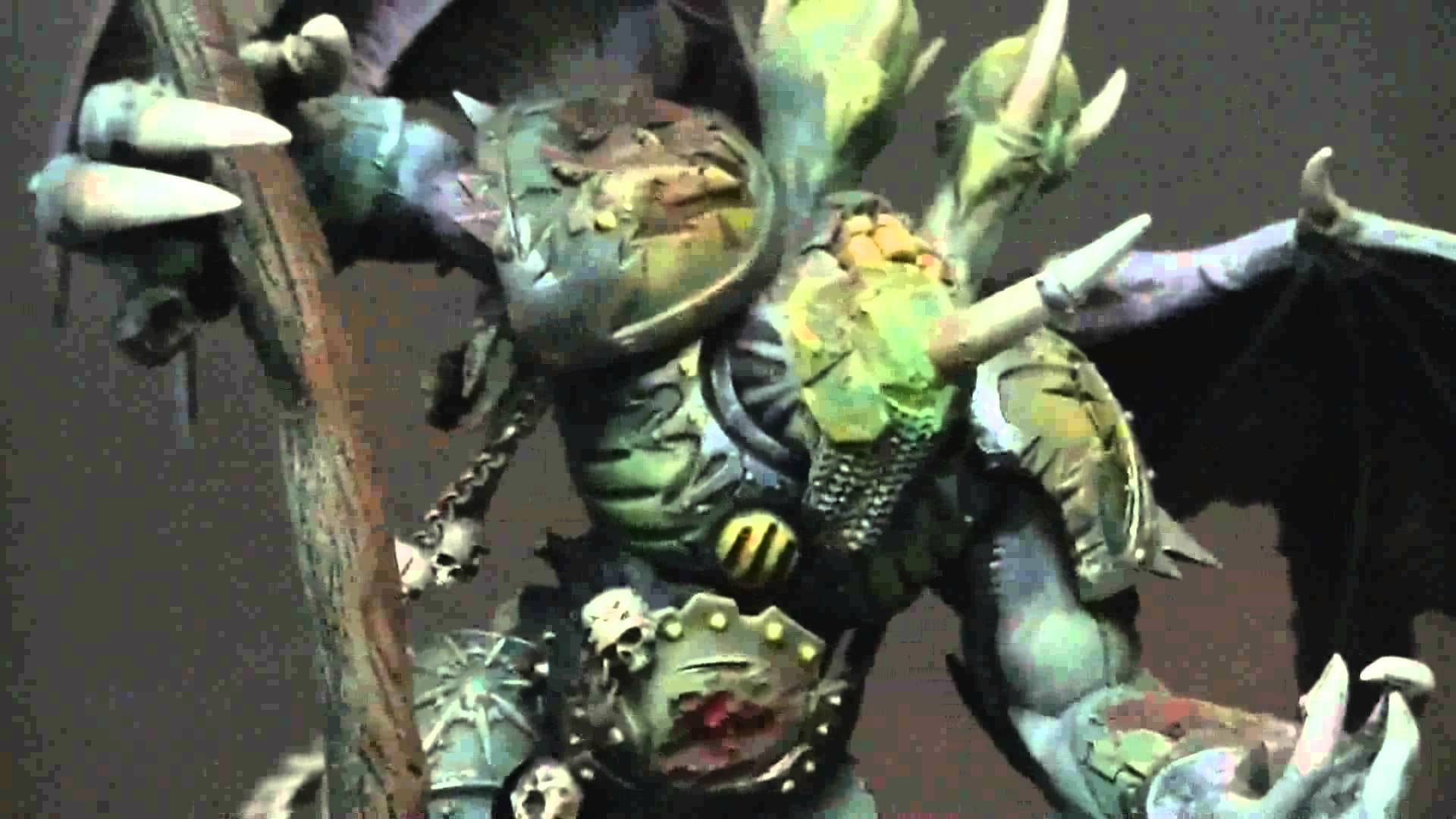 1920x1080 Close Look- Converted Daemon Prince for chaos space marines or daemons  warhammer 40K - YouTube