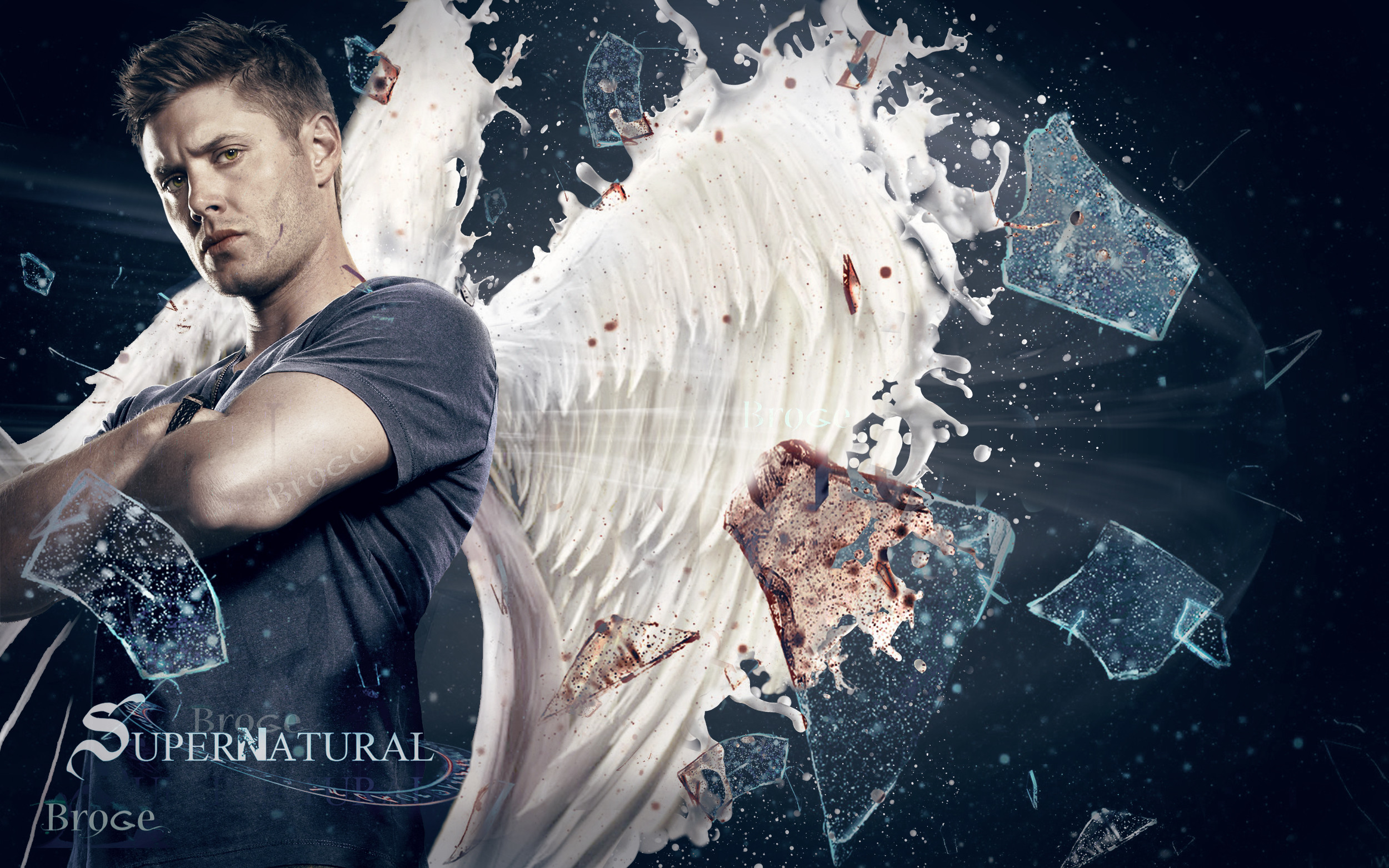 2500x1563 Dean Winchester Jensen Ackles Supernatural · HD Wallpaper | Background  ID:803000