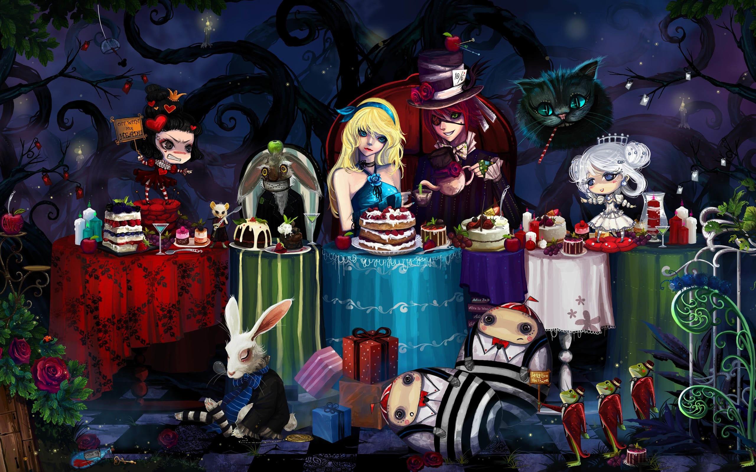 Wallpaper iphone alice wonderland - 2560x1600 Alice In Wonderland Iphone Wallpaper 62080 Wallpaper Lonidee Com