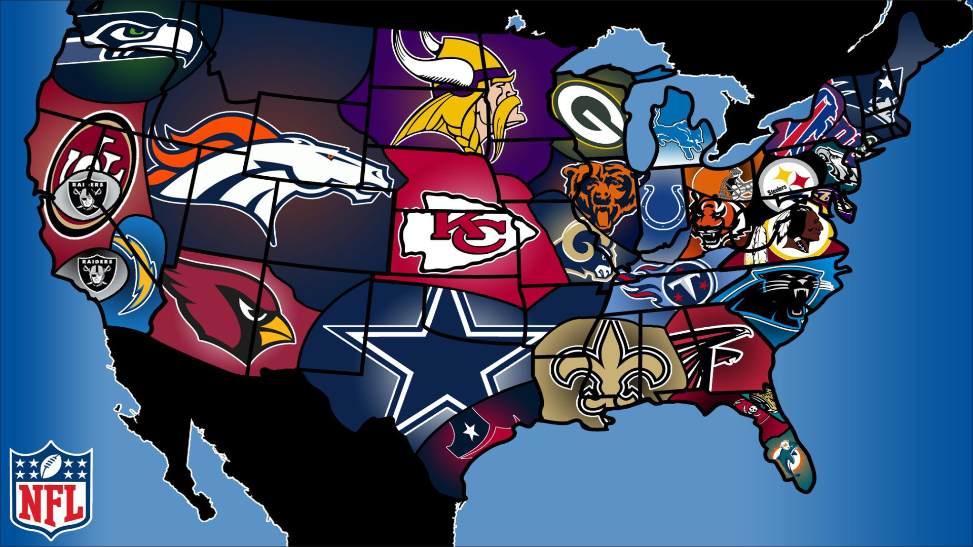 All Nfl Team Logo Wallpapers 55 Images
