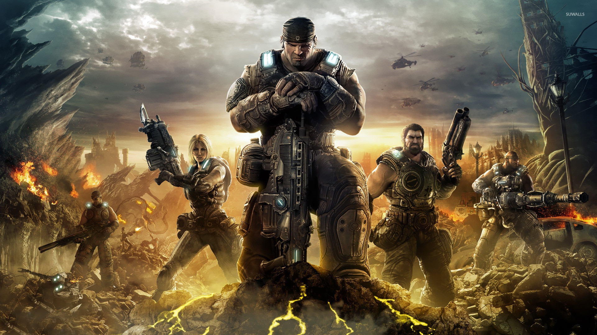1920x1080 Gears of War 3 [4] wallpaper