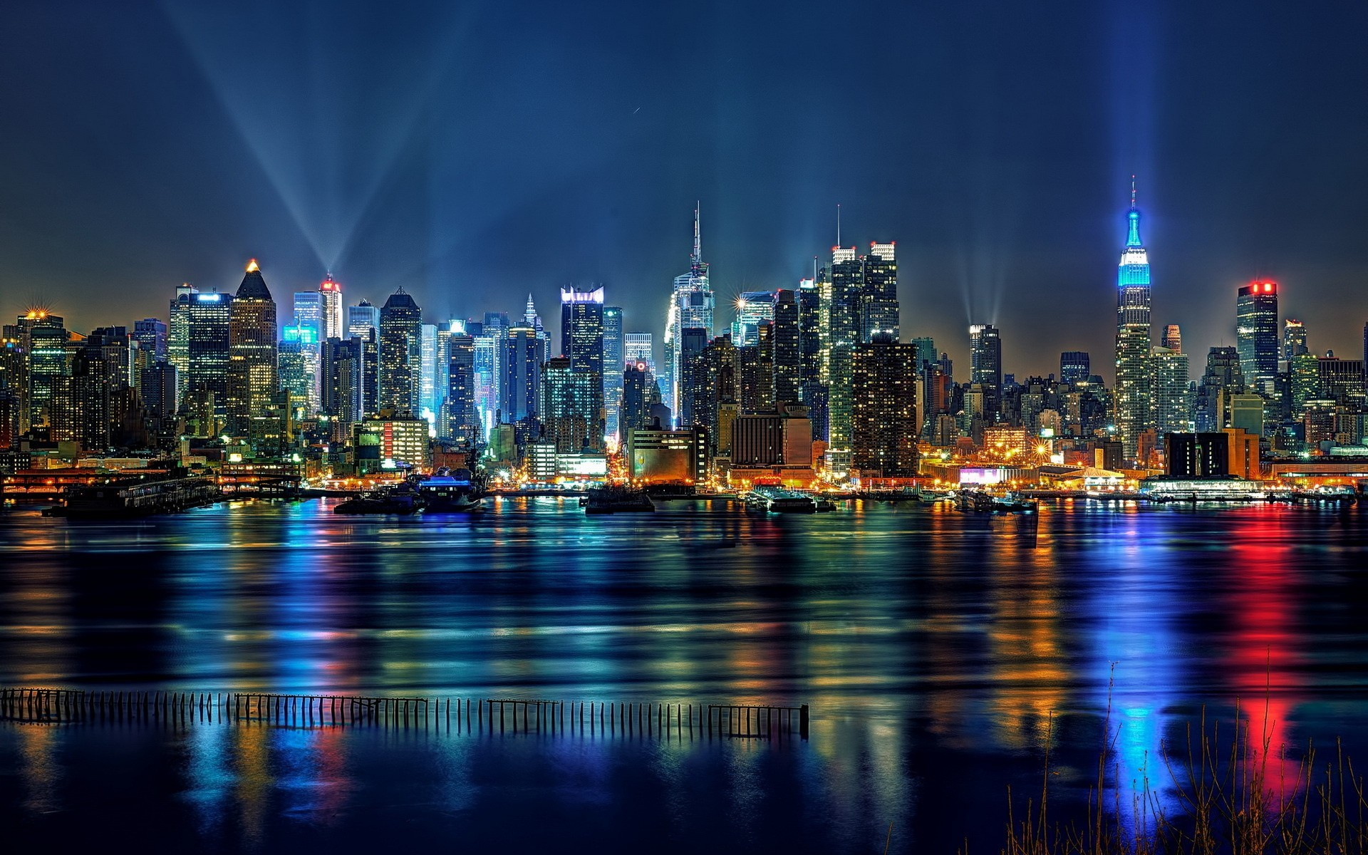 Night Time City Wallpaper (63+ images)