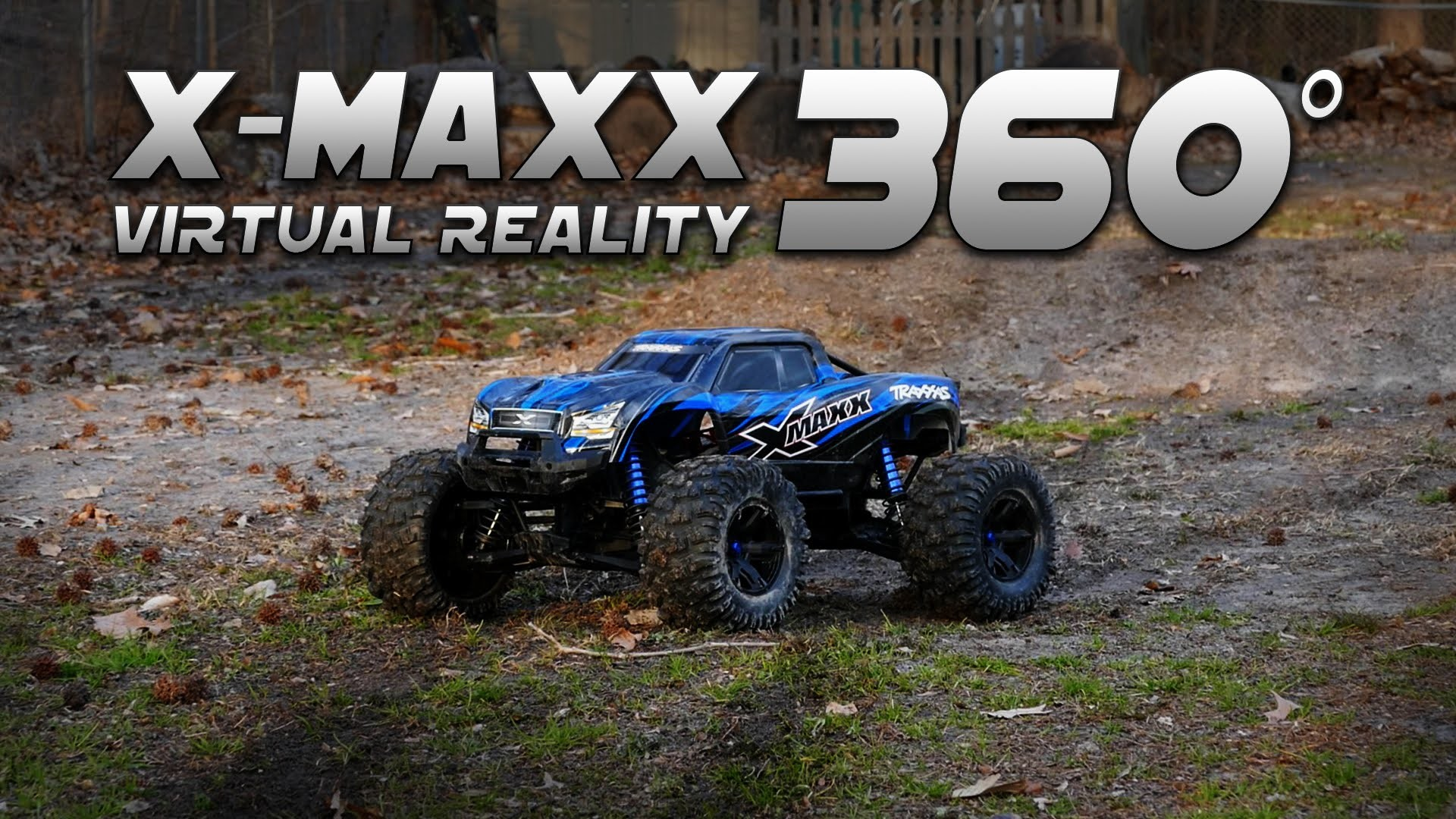 1920x1080 Traxxas X-maxx Bash In 360° Virtual Reality - Shattered Rear Rim - YouTube