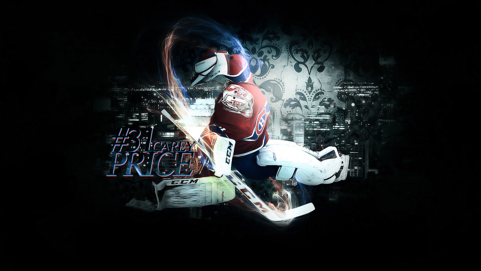 1920x1080 Stoked for the season I made a Carey Price wallpaper, yes reddit I made it  stop being so skeptical.