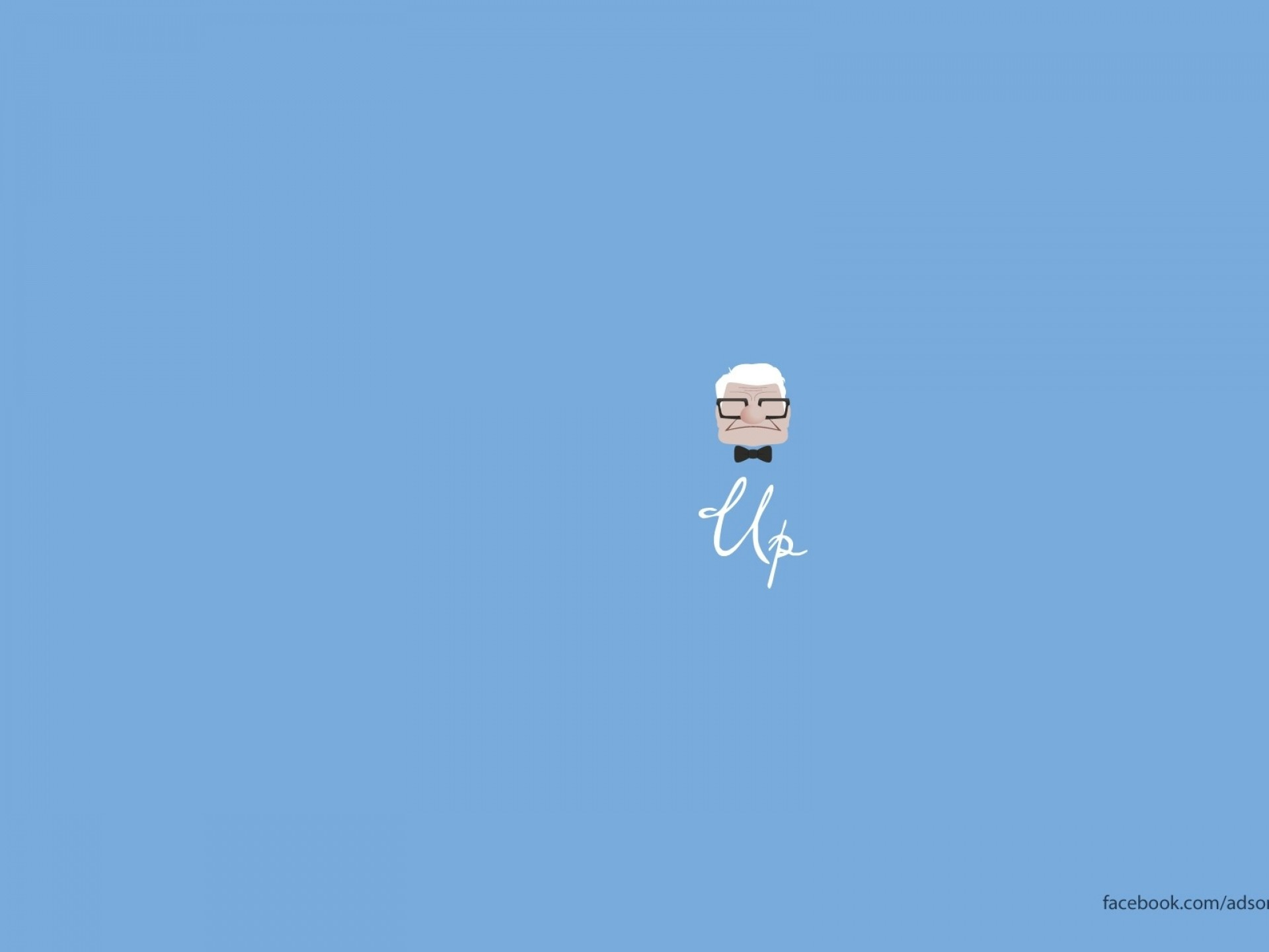 1920x1440 Download Wallpaper · Back. pixar minimalistic up ...