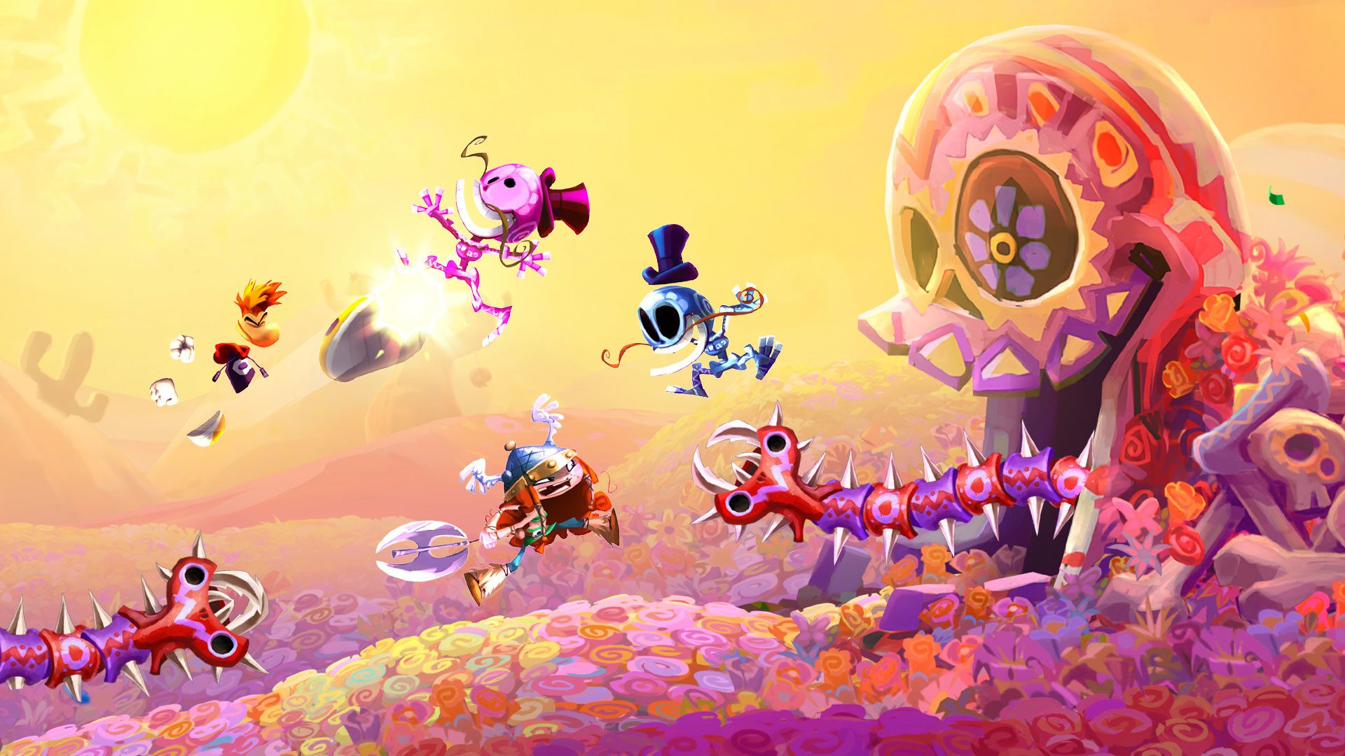 1920x1080 Rayman Legends Definitive Edition HD Wallpapers - Read .