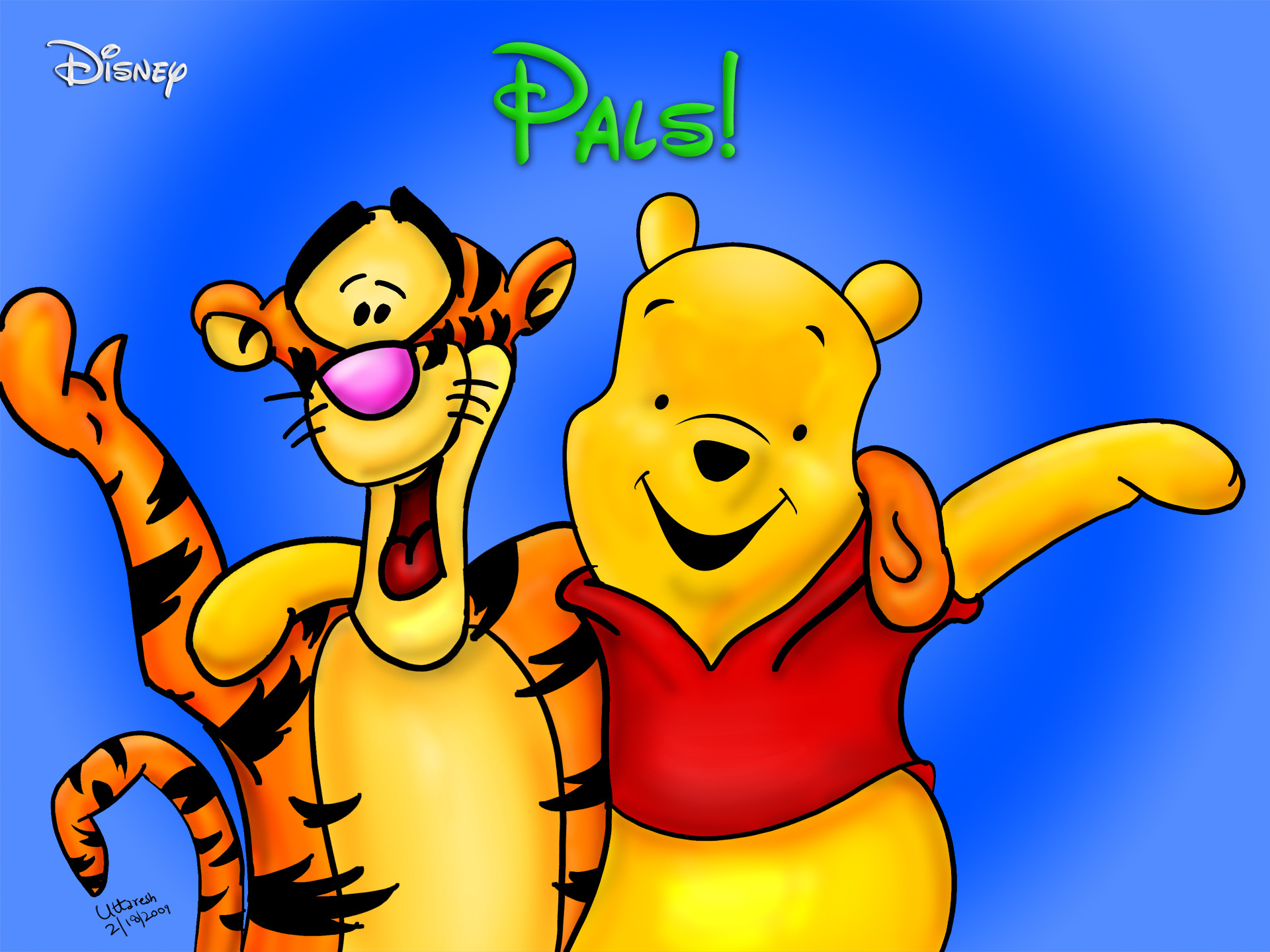 It's just a graphic of Clever Images of Pooh Bear
